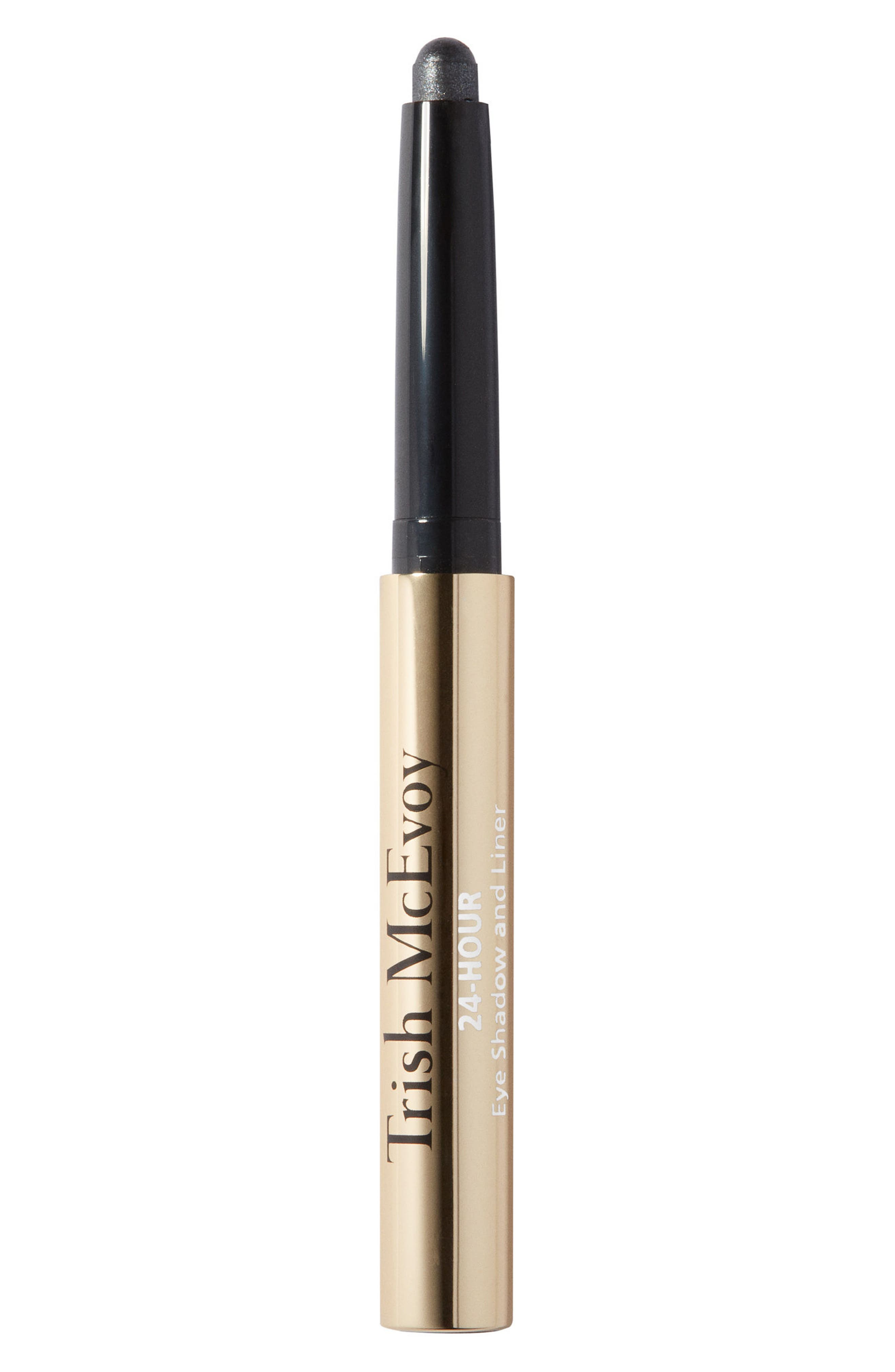 TRISH MCEVOY 24-Hour Eyeshadow & Eyeliner, Main, color, CRYSTAL GREY