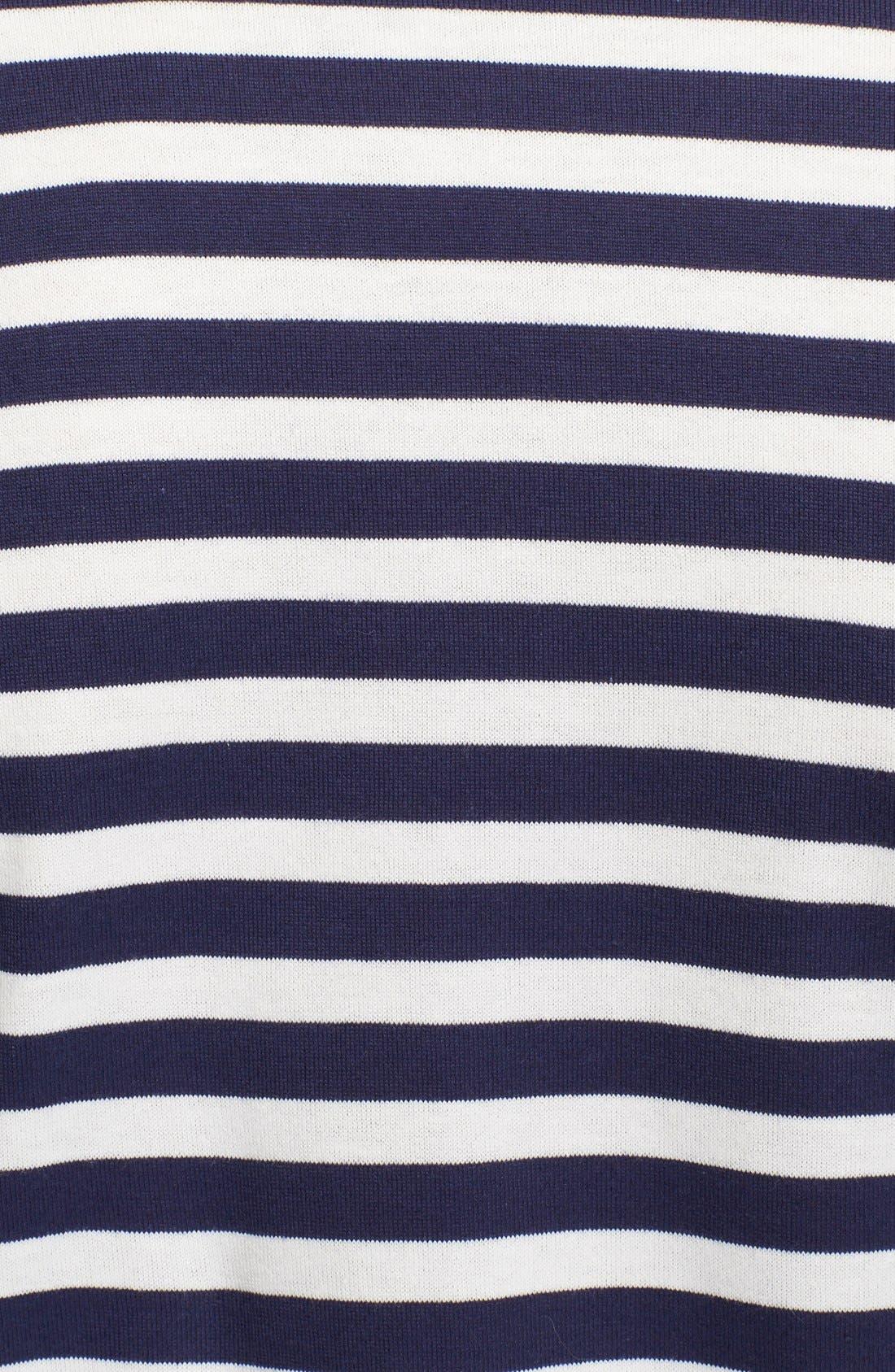 COMME DES GARÇONS PLAY, Stripe T-Shirt, Alternate thumbnail 2, color, 410