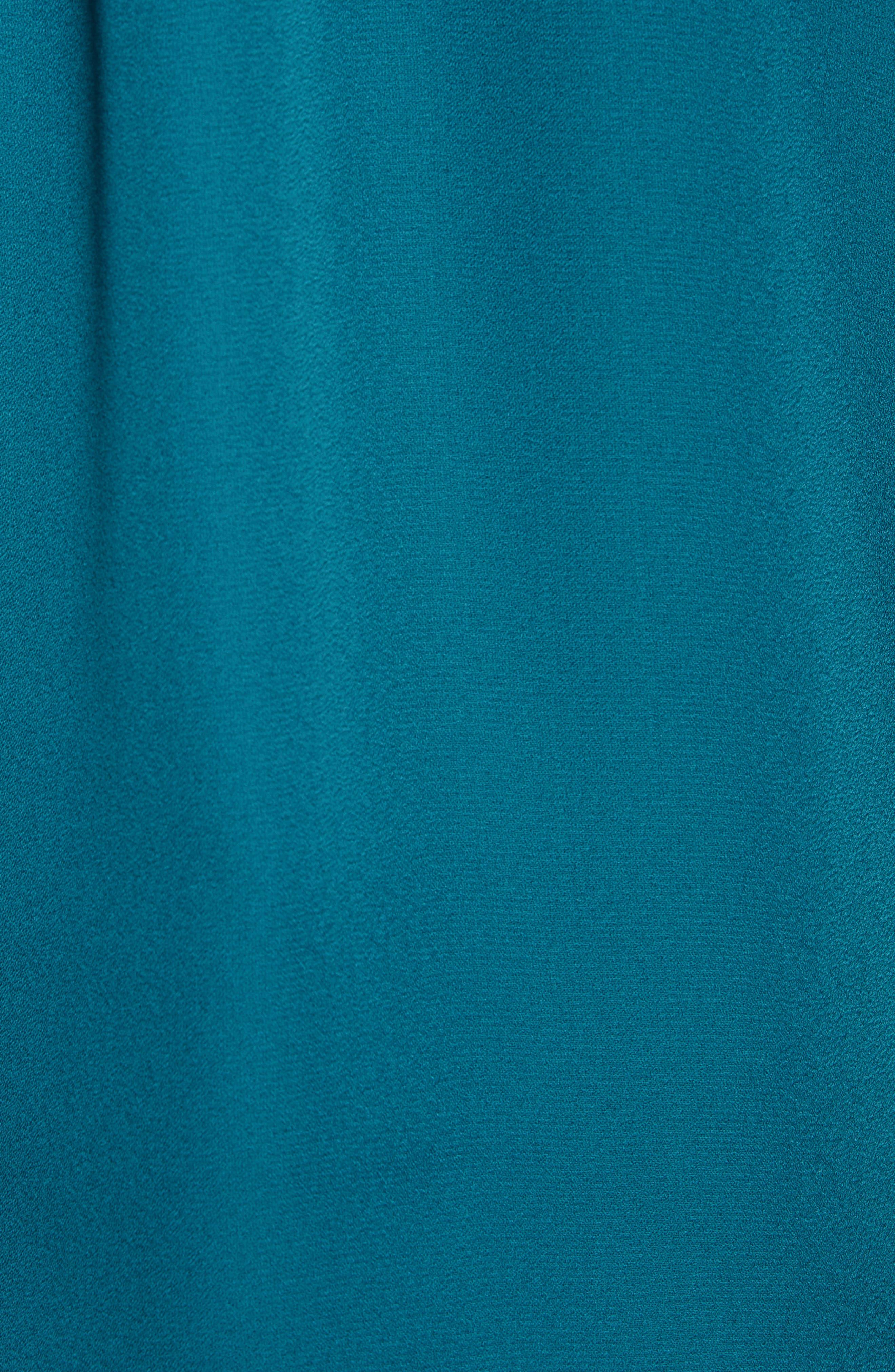 SOCIALITE, Lace Trim Camisole Top, Alternate thumbnail 5, color, DARK TEAL