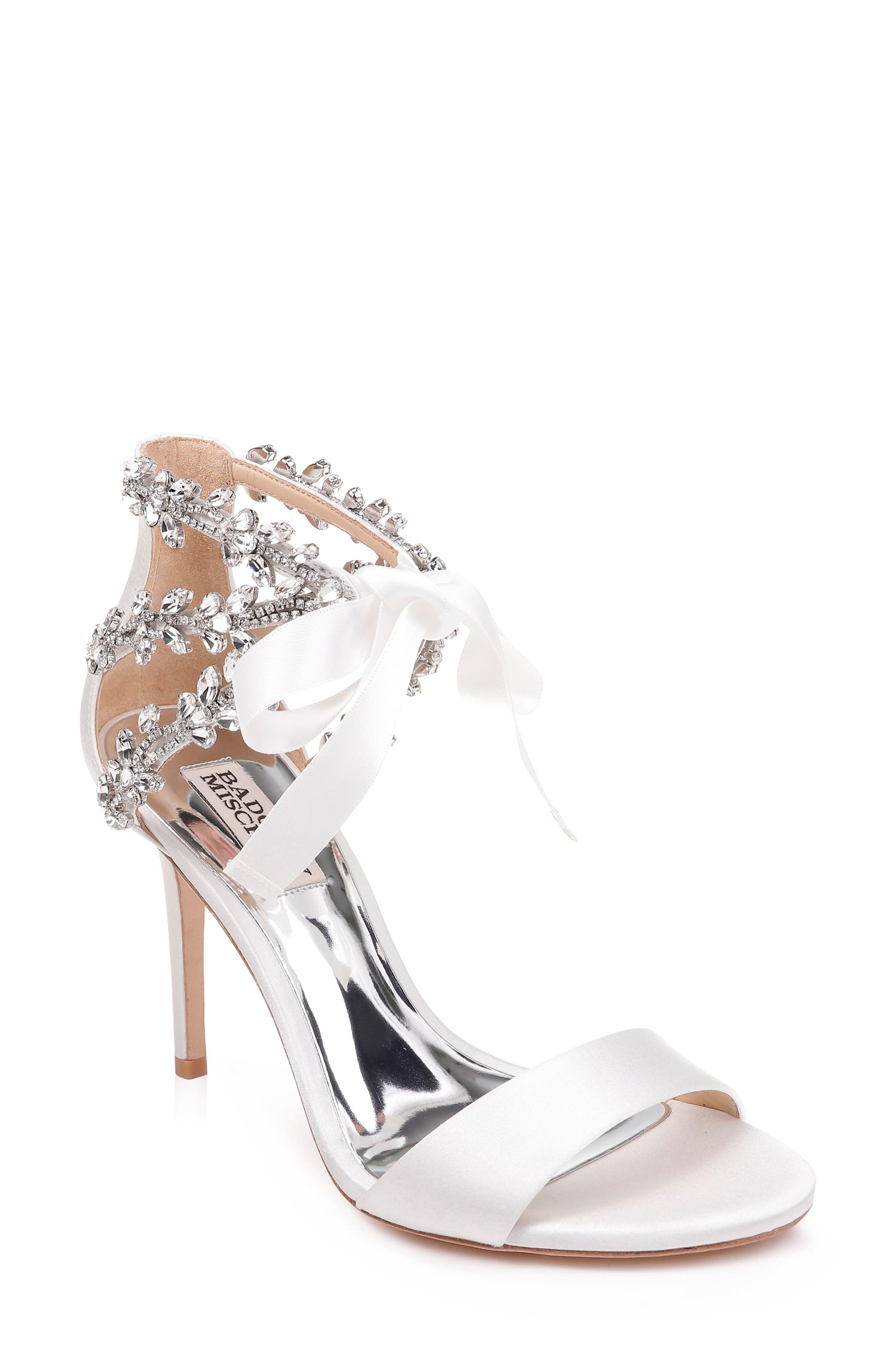 a6b4d01520c0 Badgley Mischka Felicia Embellished Sandal