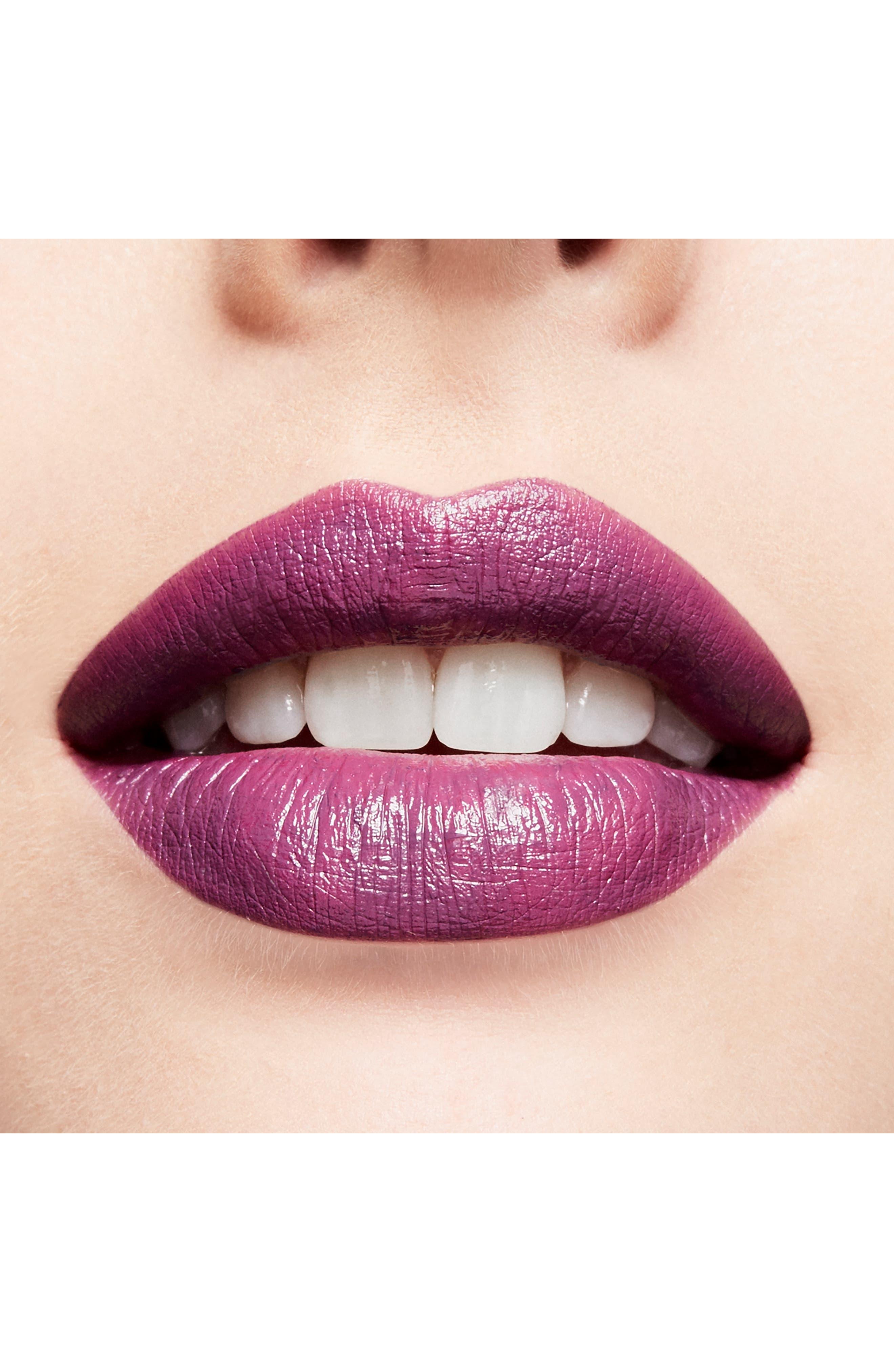 MAC COSMETICS, MAC Throwbacks Lipstick, Alternate thumbnail 4, color, EPIC