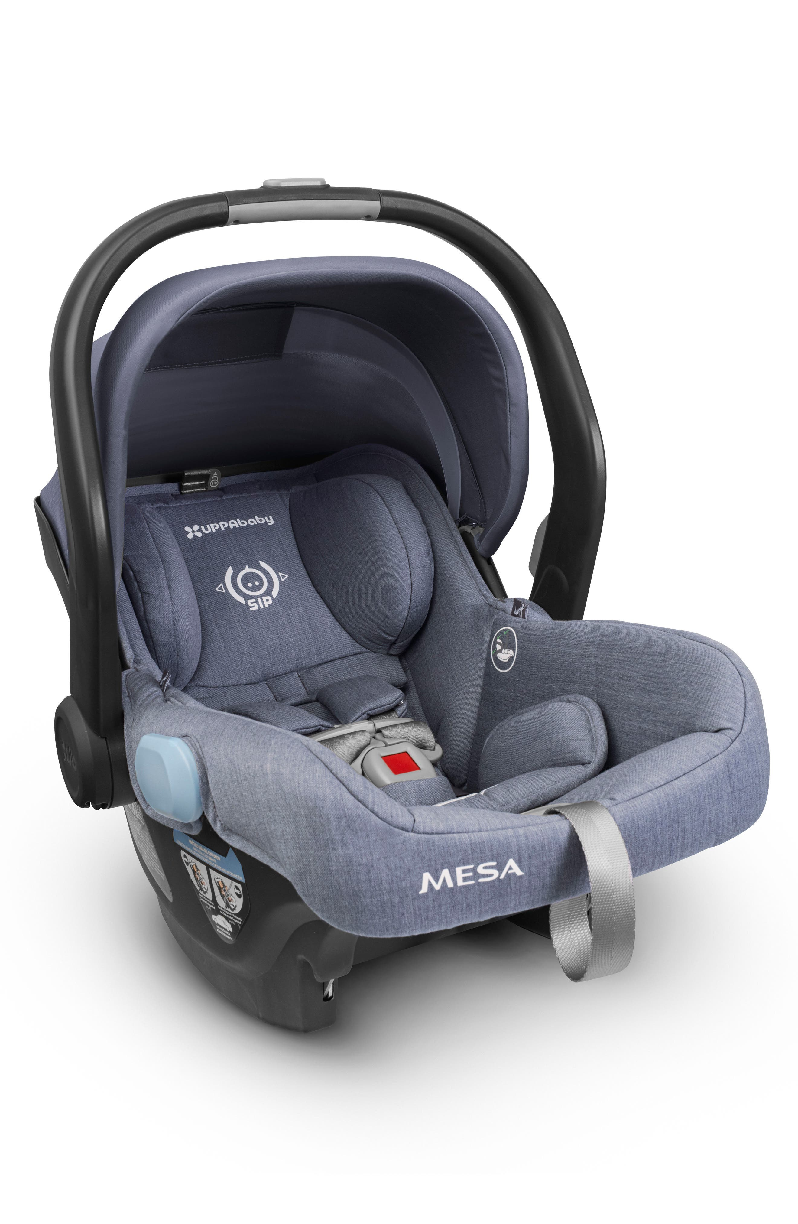 UPPABABY MESA Henry Special Edition Car Seat, Main, color, BLUE MARL