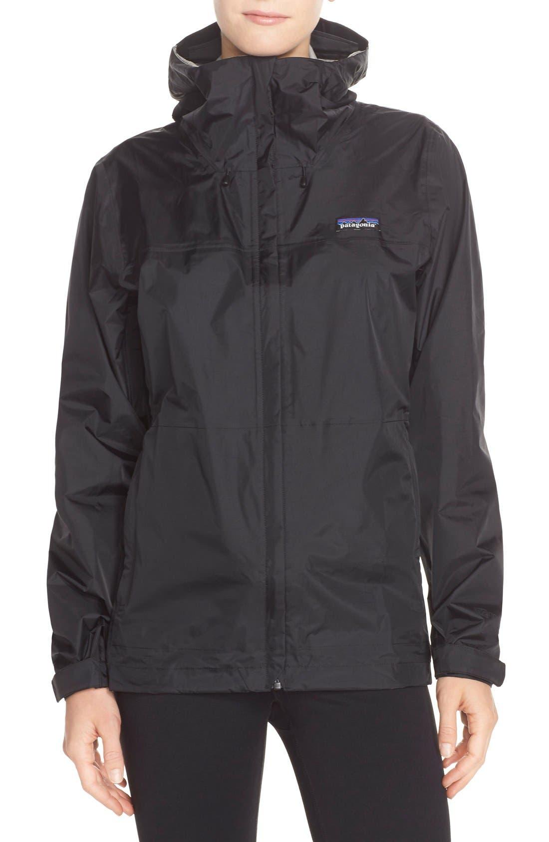 PATAGONIA, Torrentshell Jacket, Main thumbnail 1, color, BLACK