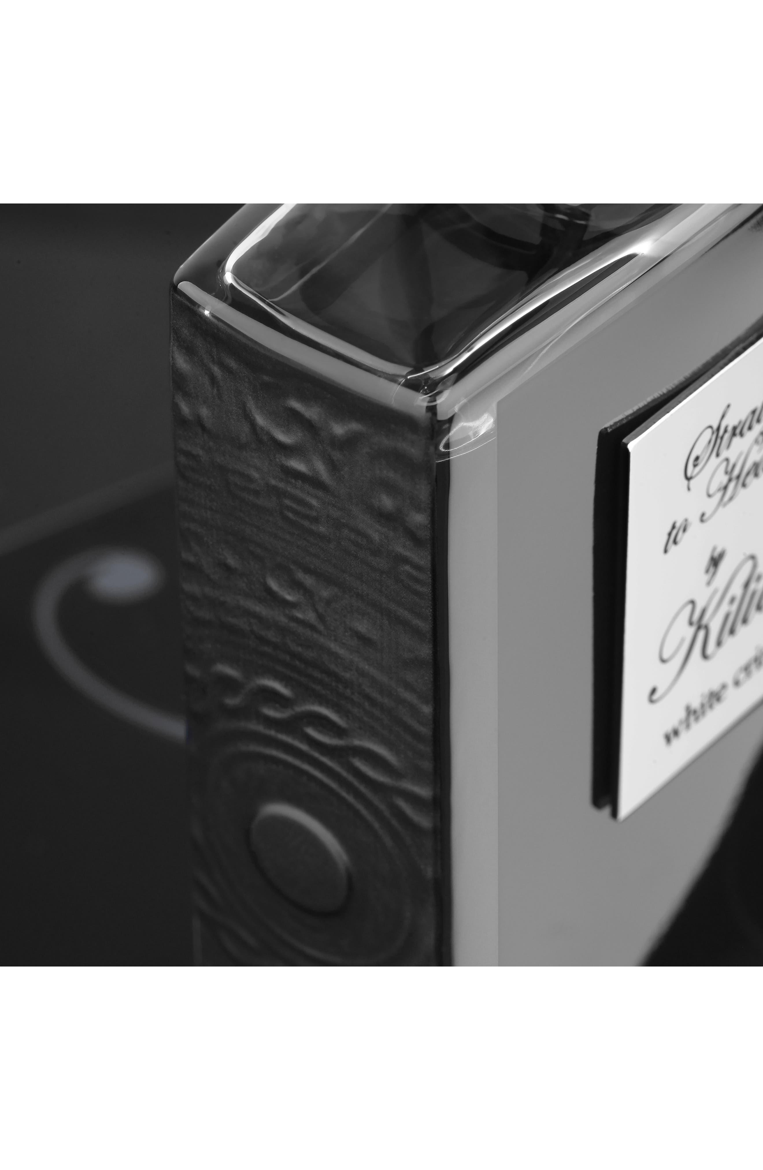 KILIAN, 'L'Oeuvre Noire - Straight to Heaven, white cristal' Refillable Fragrance Spray, Alternate thumbnail 5, color, NO COLOR