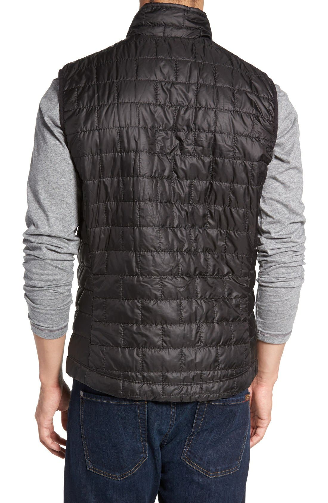 PATAGONIA, Nano Puff<sup>®</sup> Vest, Alternate thumbnail 4, color, BLACK