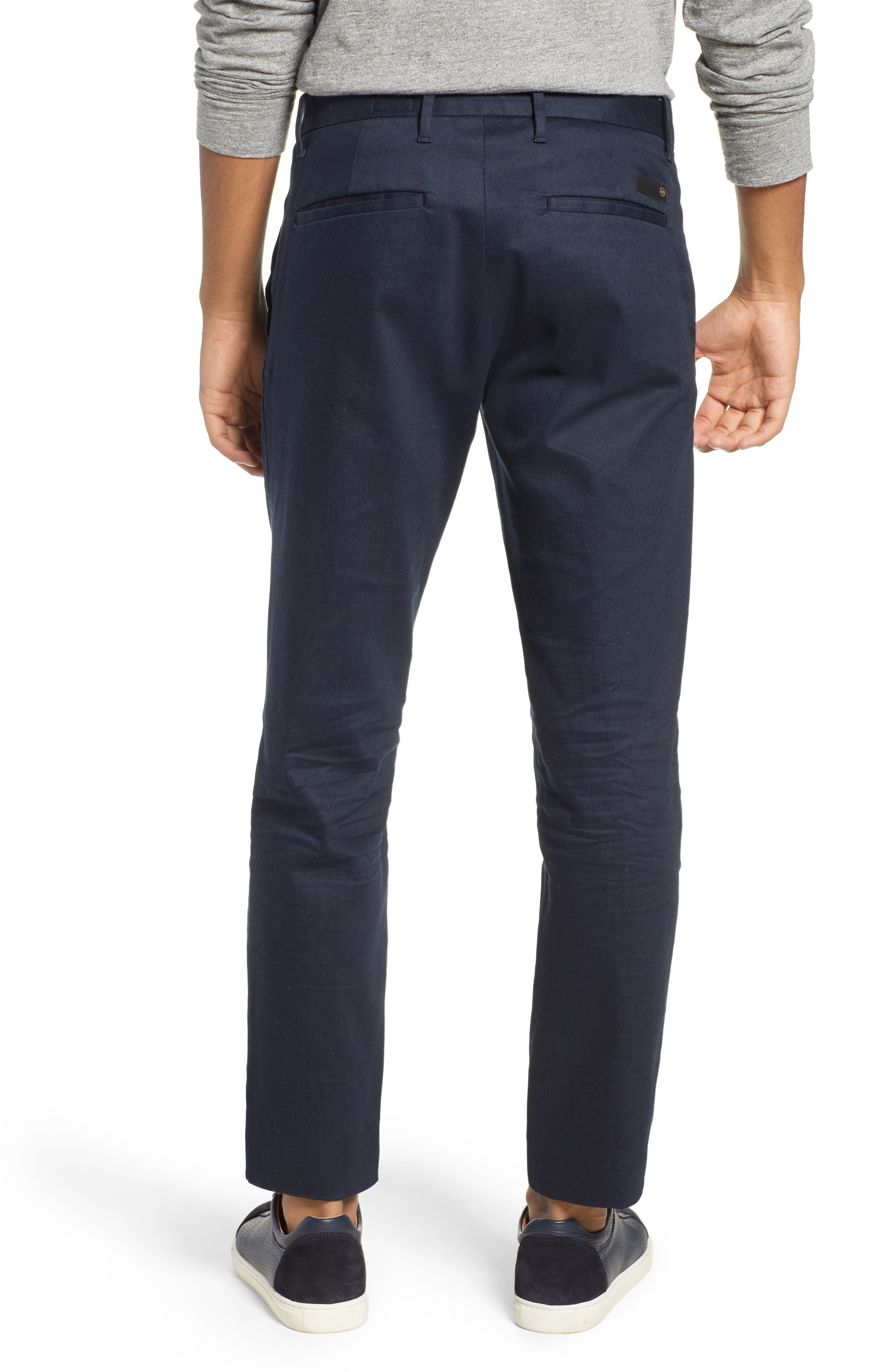 AG, Payton Slim Fit Trousers, Alternate thumbnail 2, color, 1 YEARS FELL