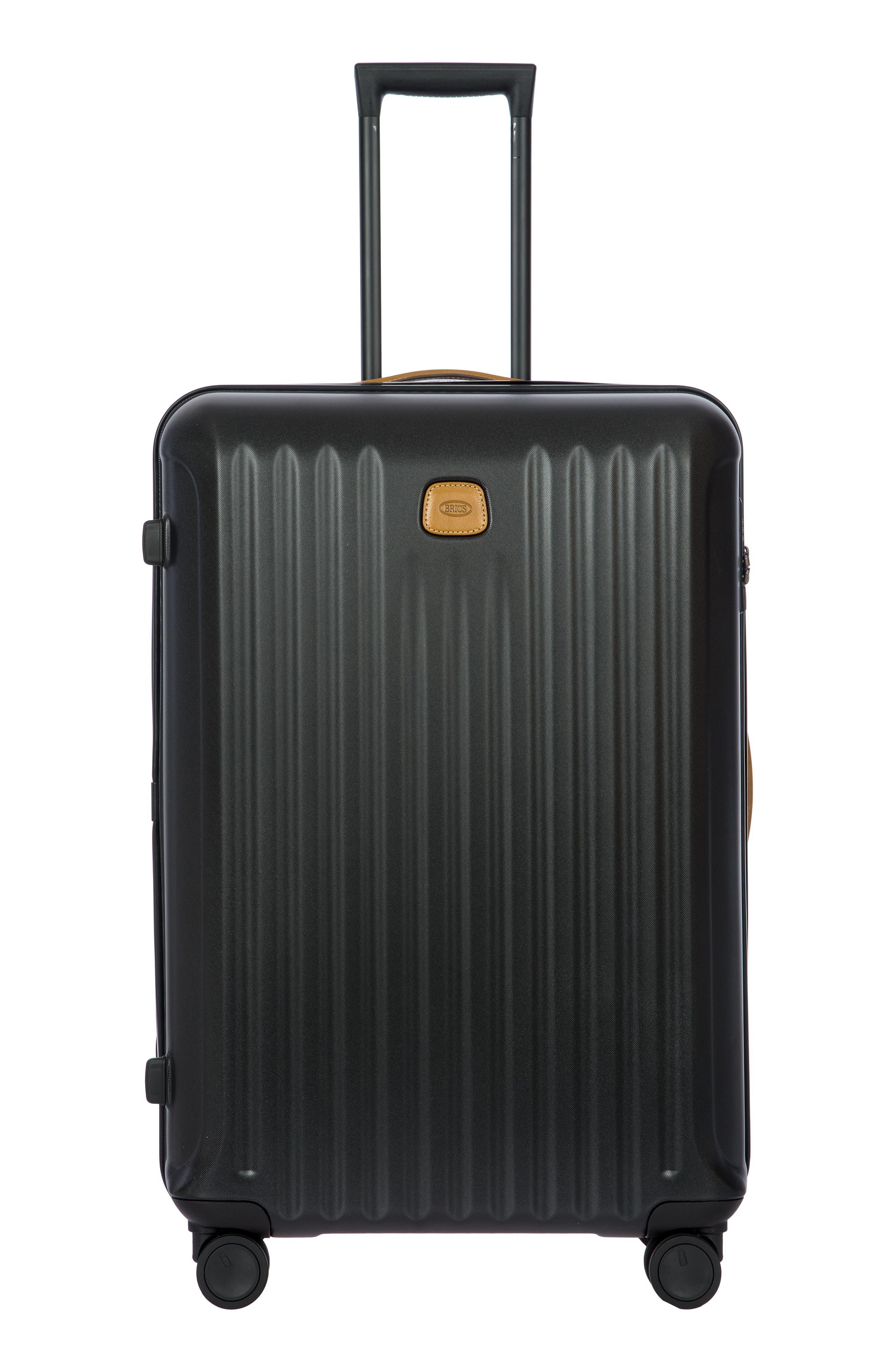 BRIC'S, Capri 32-Inch Spinner Suitcase, Alternate thumbnail 8, color, MATTE BLACK