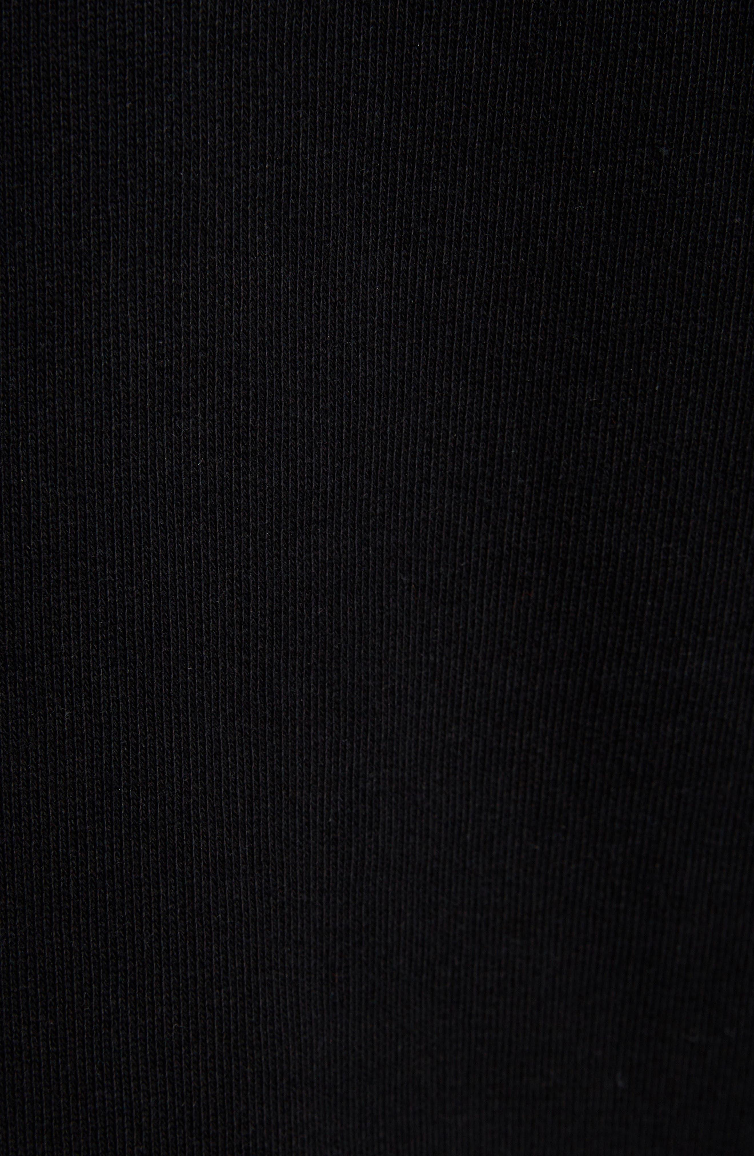 KENZO, Sport Culottes, Alternate thumbnail 6, color, BLACK