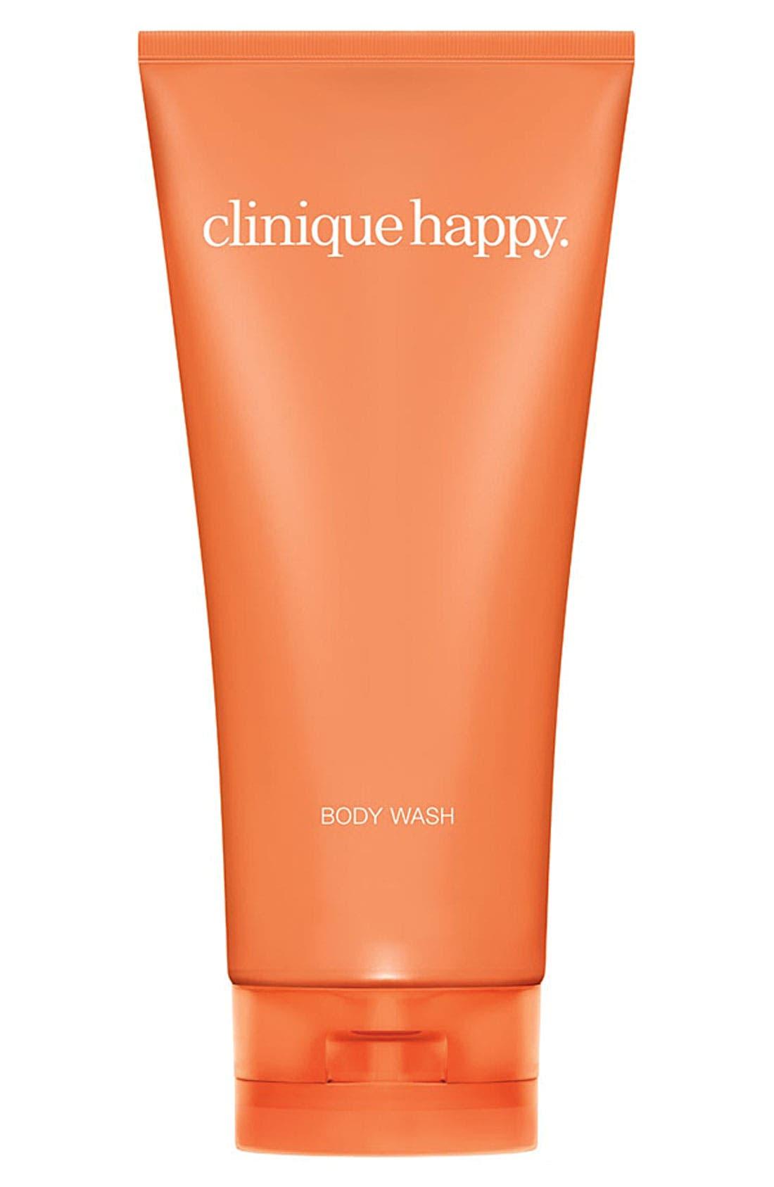 CLINIQUE Happy Body Wash, Main, color, NO COLOR