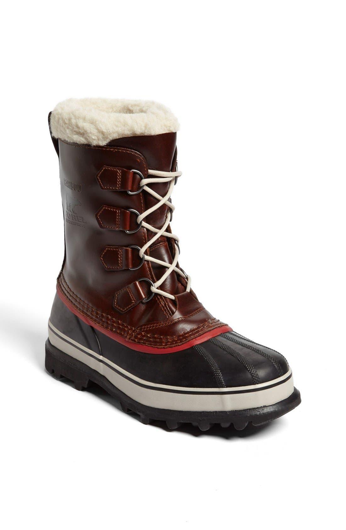 SOREL 'Caribou' Snow Boot, Main, color, 219
