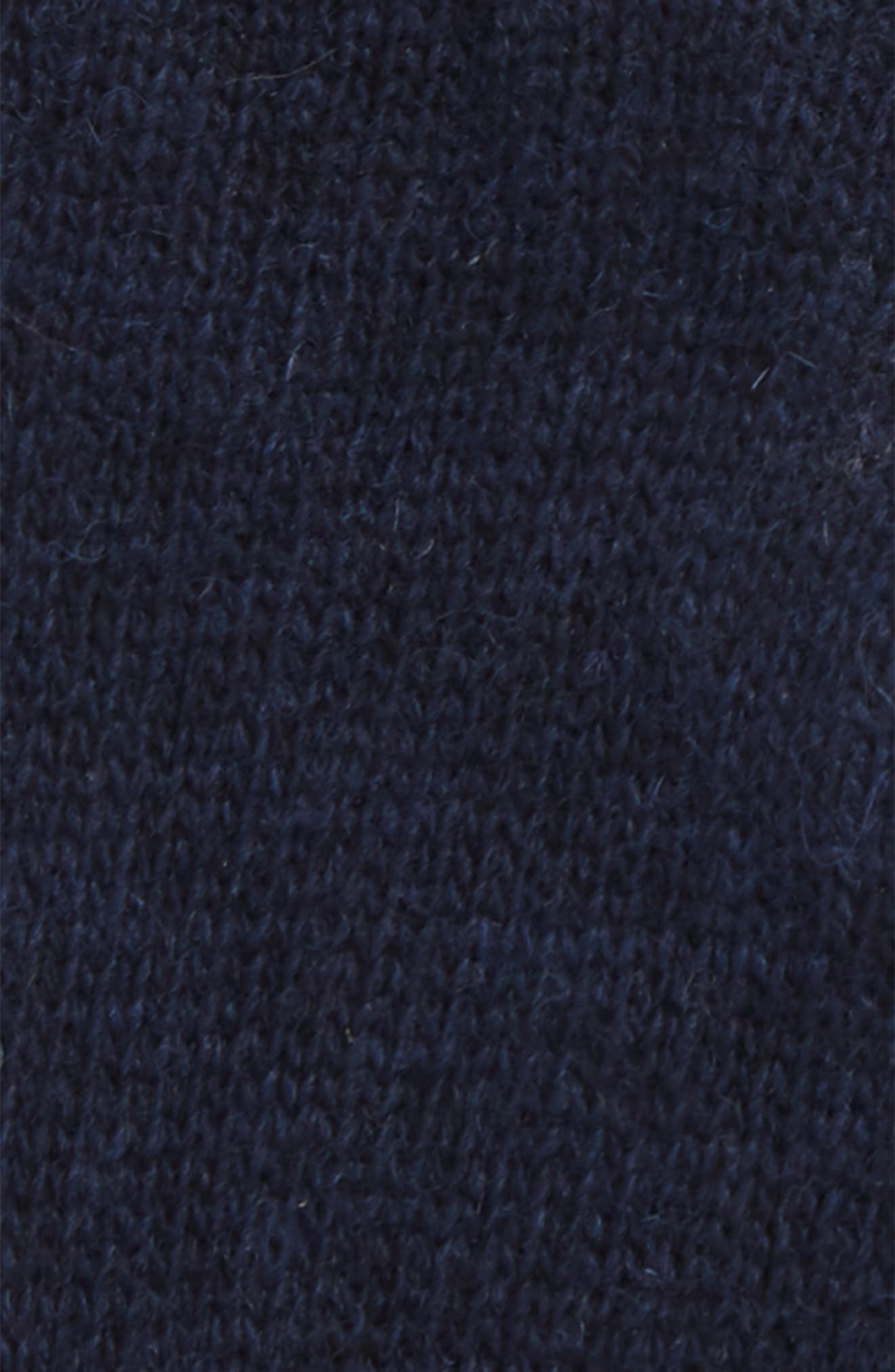 BARBOUR, Carlton Stretch Wool Gloves, Alternate thumbnail 2, color, NAVY