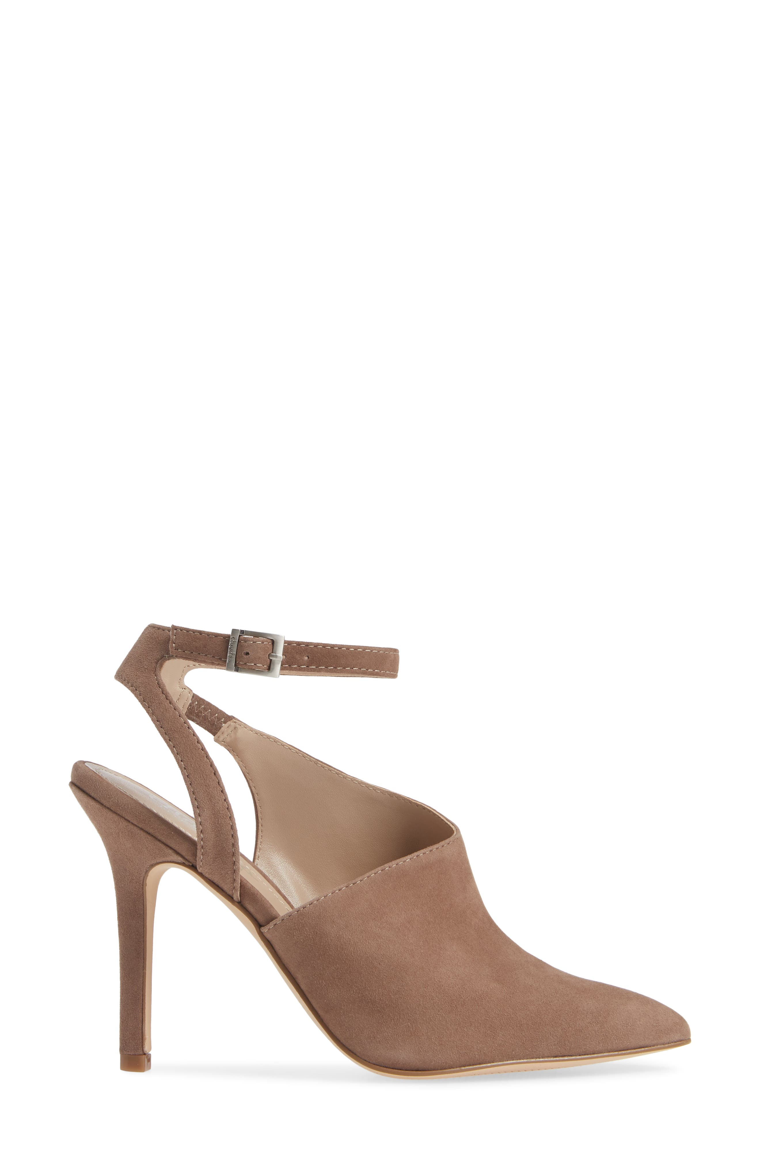 CHARLES BY CHARLES DAVID, Mieko Pump, Alternate thumbnail 3, color, TAUPE SUEDE