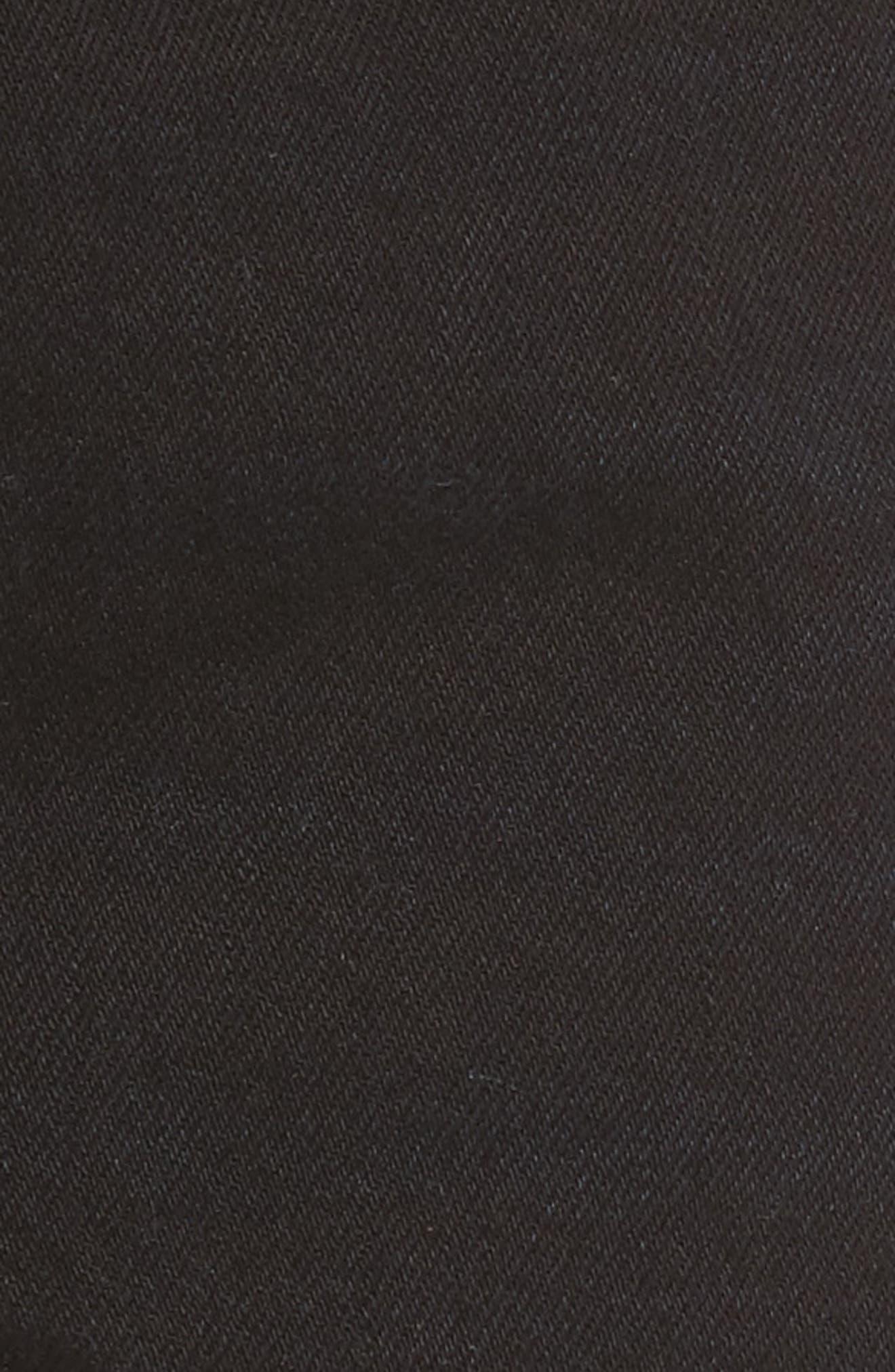 LEVI'S<SUP>®</SUP>, 501<sup>®</sup> High Rise Denim Shorts, Alternate thumbnail 6, color, DARKEST HOUR