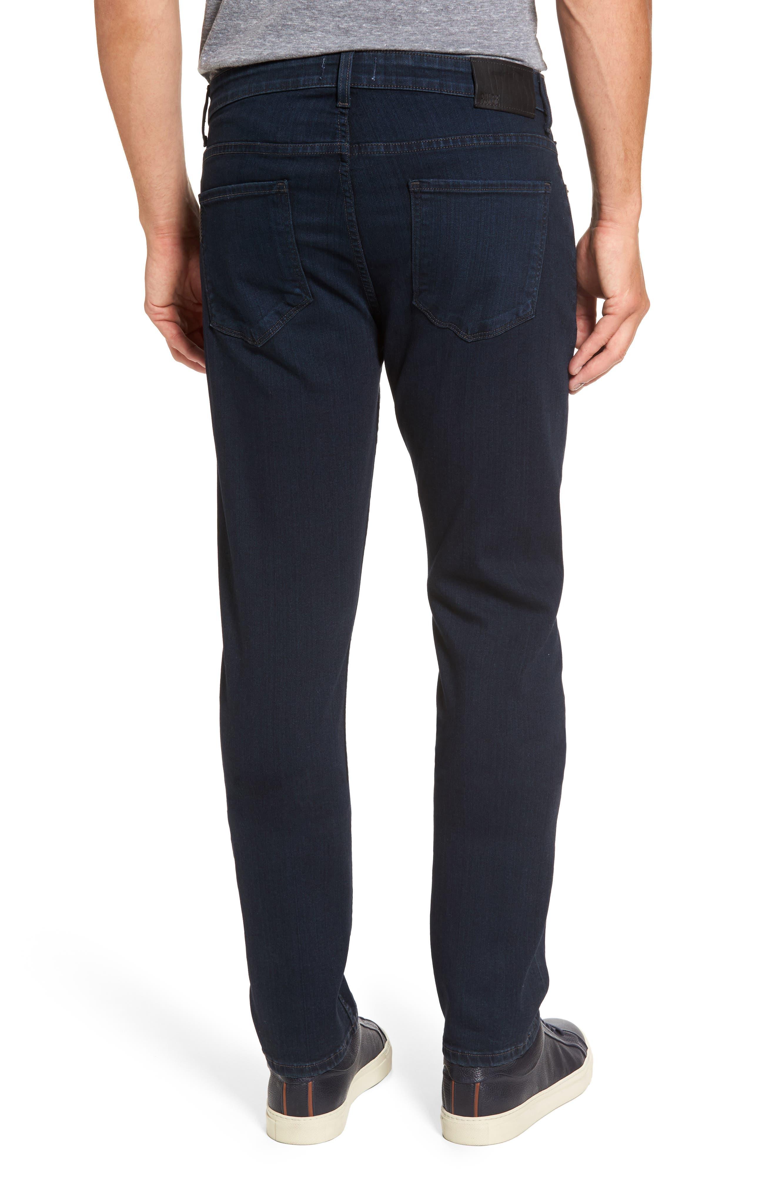 PAIGE, Normandie Straight Leg Jeans, Alternate thumbnail 2, color, ARLO