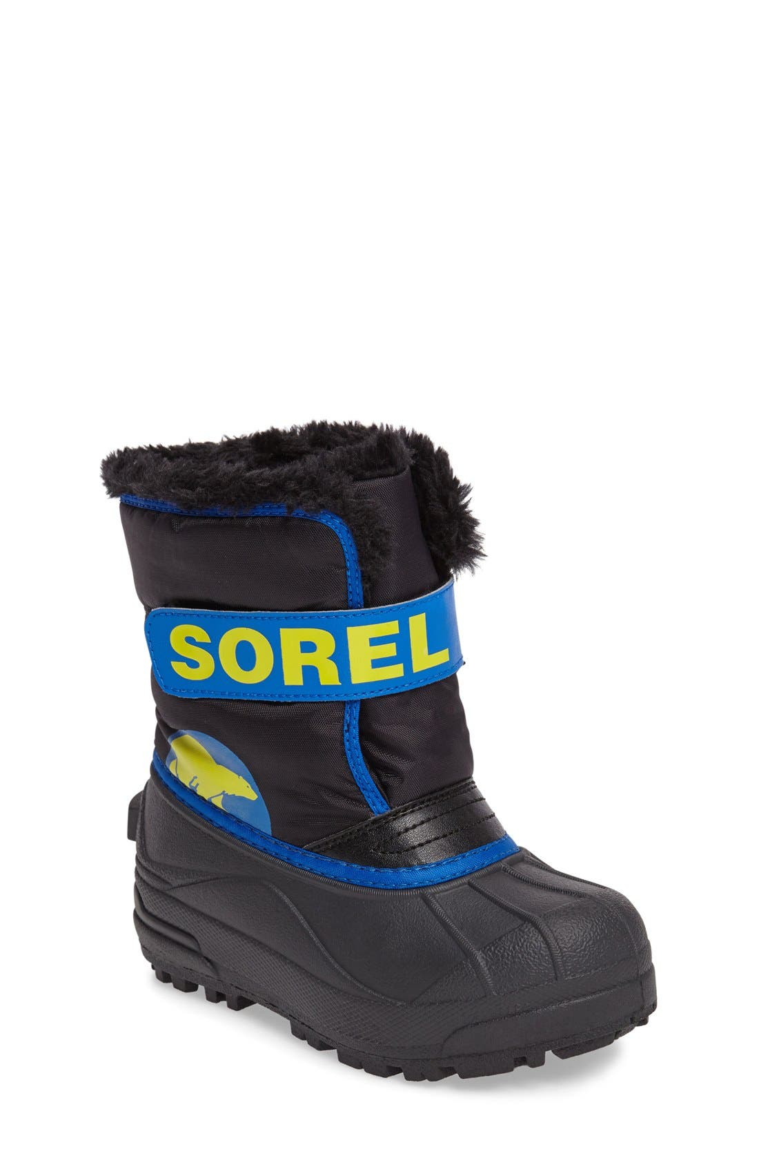 SOREL, 'Snow Commander' Boot, Main thumbnail 1, color, 011