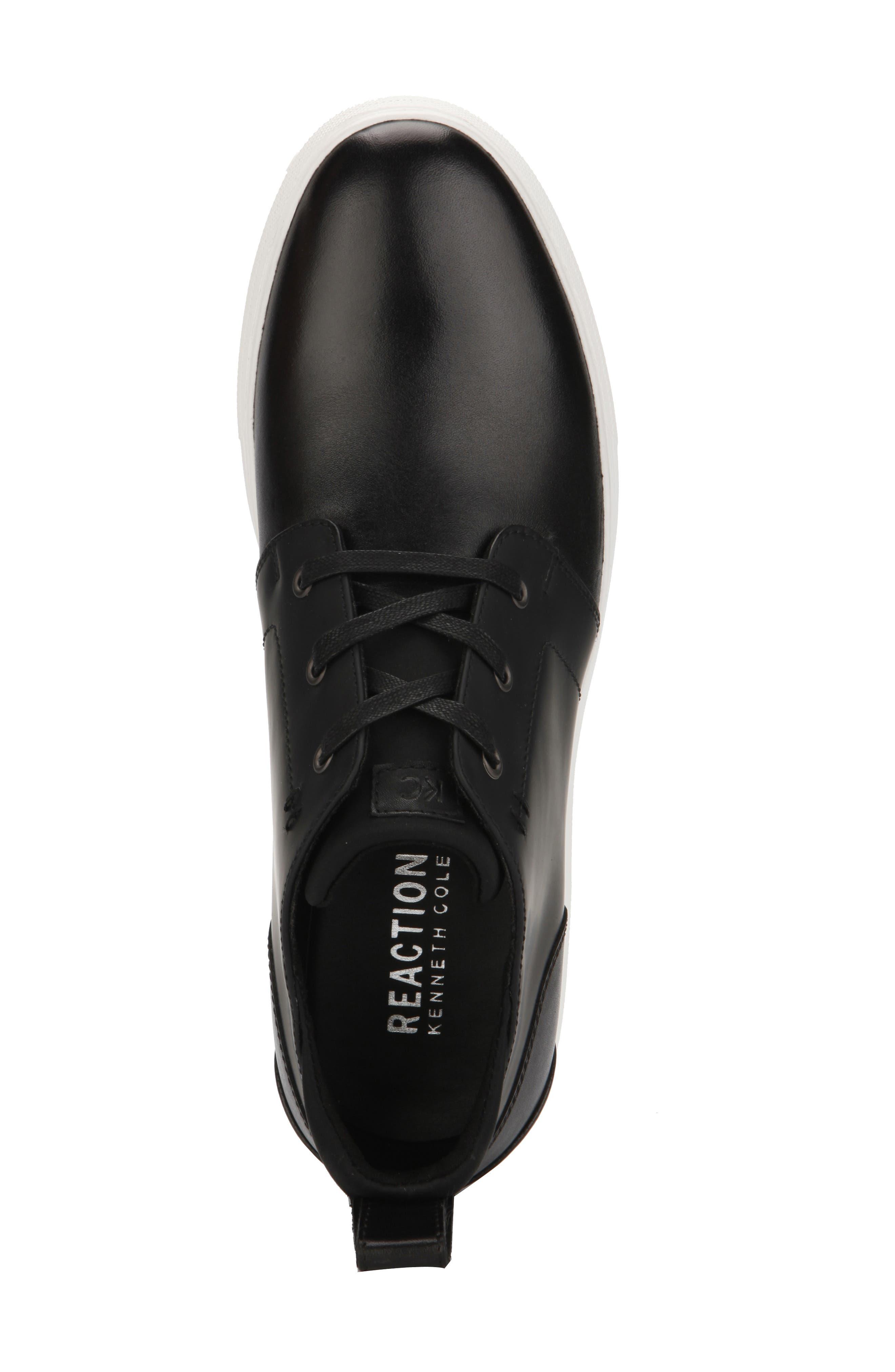 REACTION KENNETH COLE, Reemer Chukka Sneaker, Alternate thumbnail 3, color, BLACK