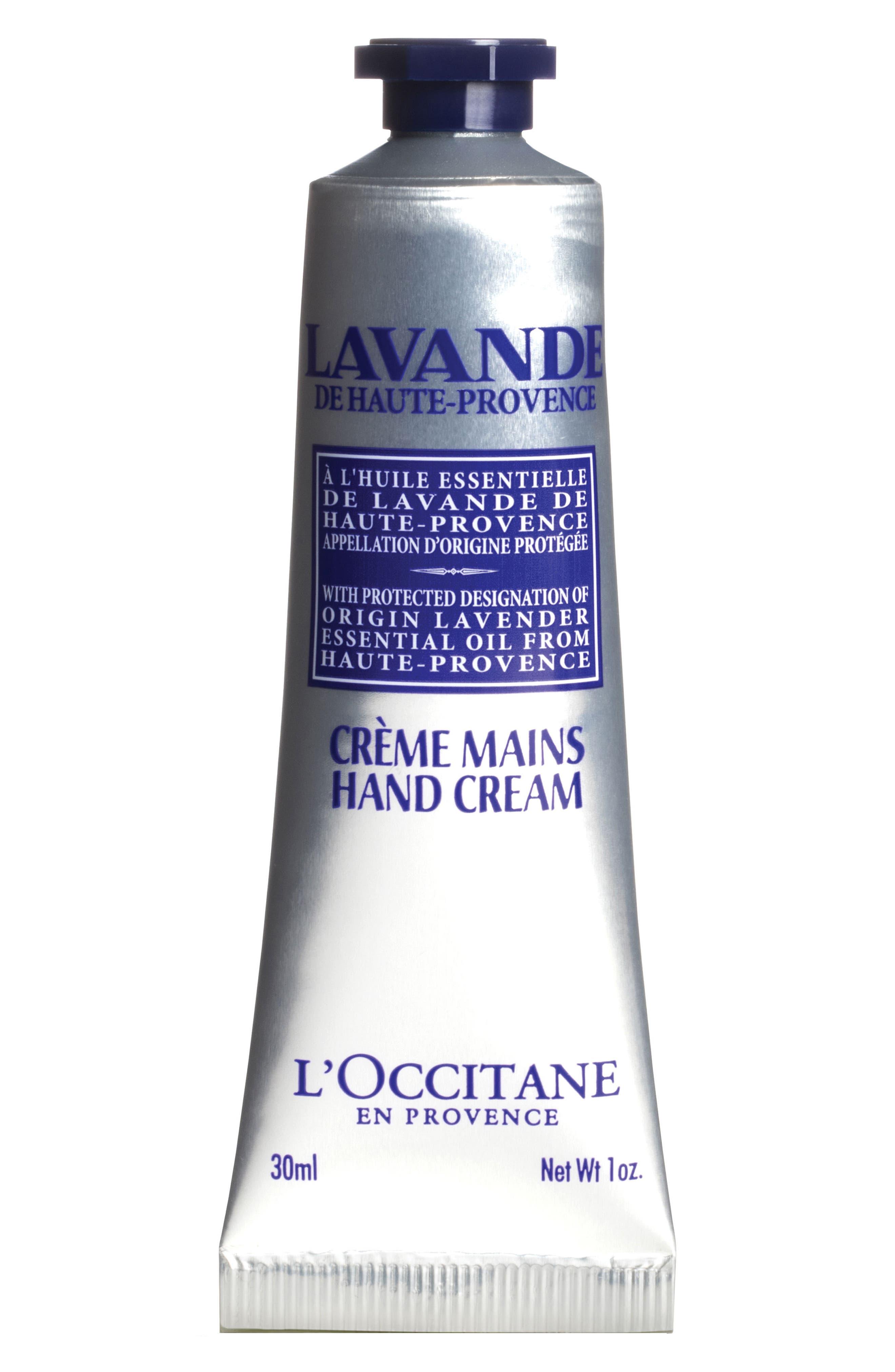 L'OCCITANE, Lavender Hand Cream, Main thumbnail 1, color, NO_COLOR