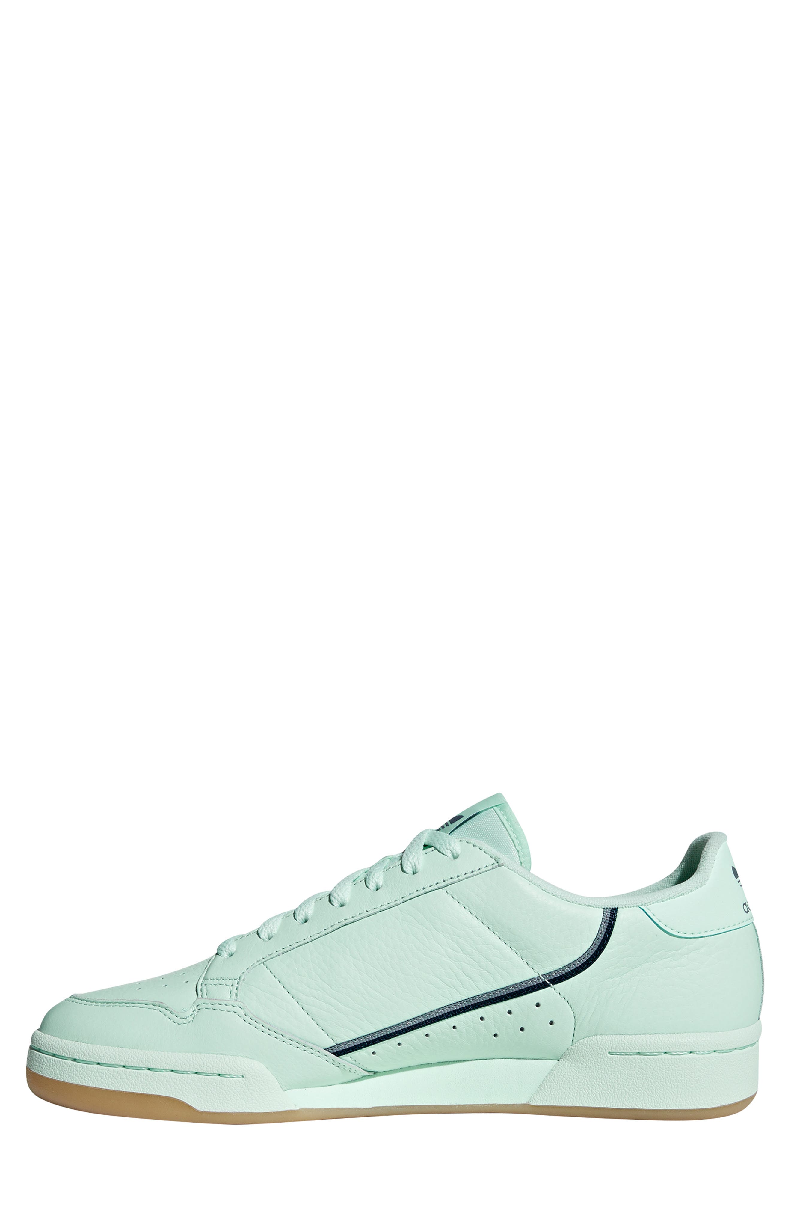 ADIDAS, Continental 80 Sneaker, Alternate thumbnail 9, color, ICE MINT/ NAVY/ GREY
