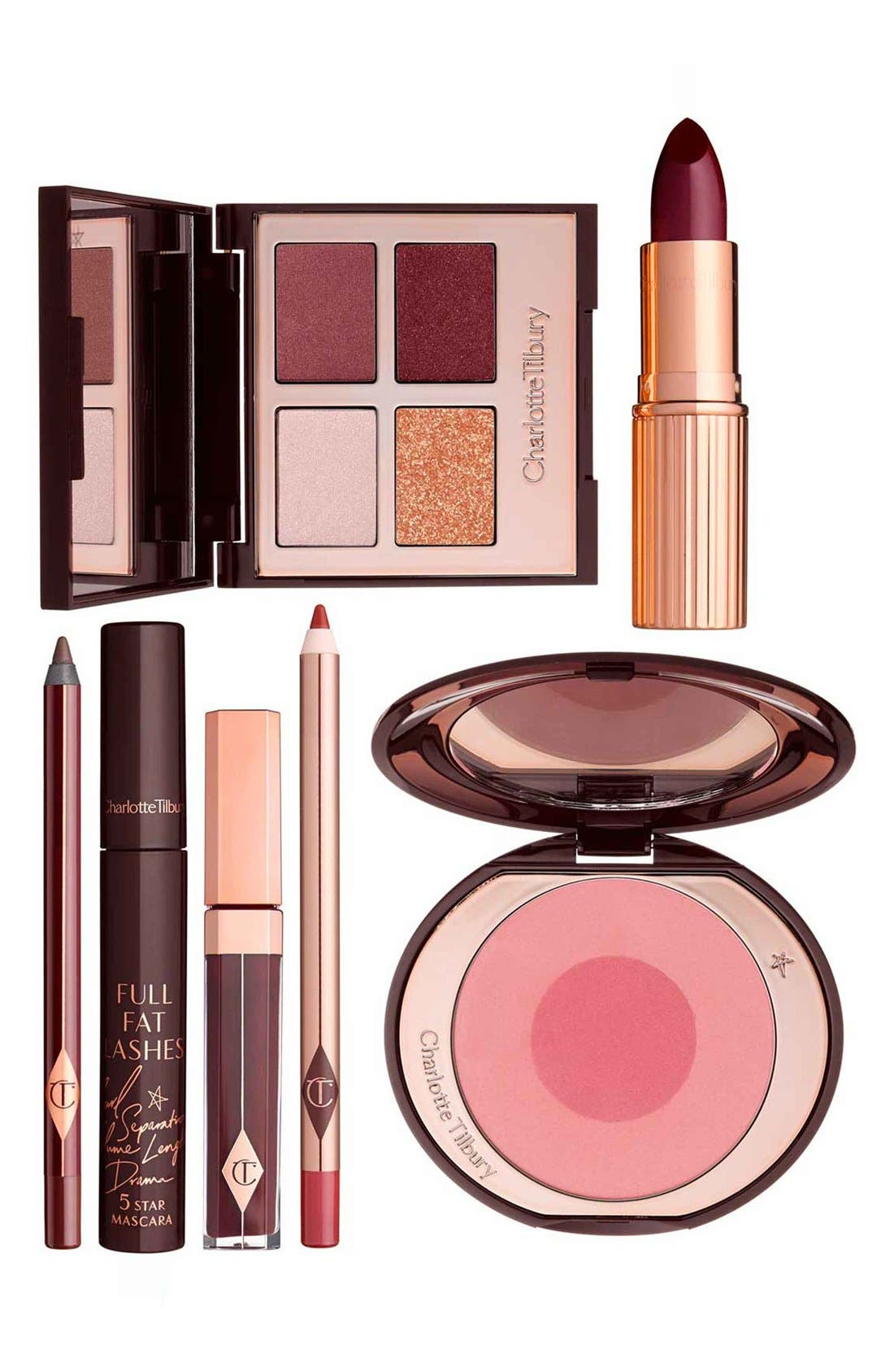 CHARLOTTE TILBURY The Vintage Vamp Look Set, Main, color, NO COLOR