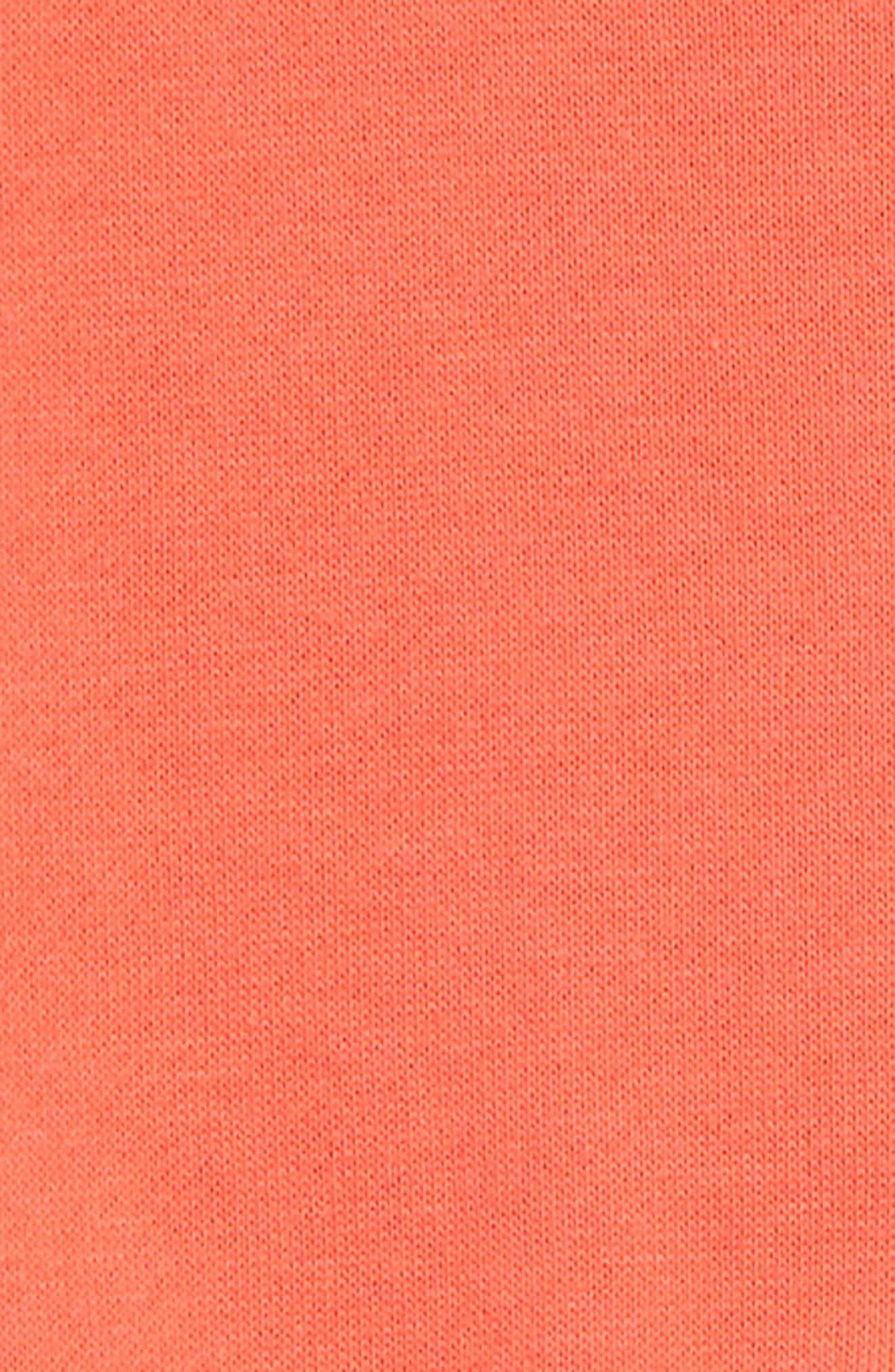 SPLENDID, Top & Stripe Pants Set, Alternate thumbnail 2, color, CORAL LIPSTICK
