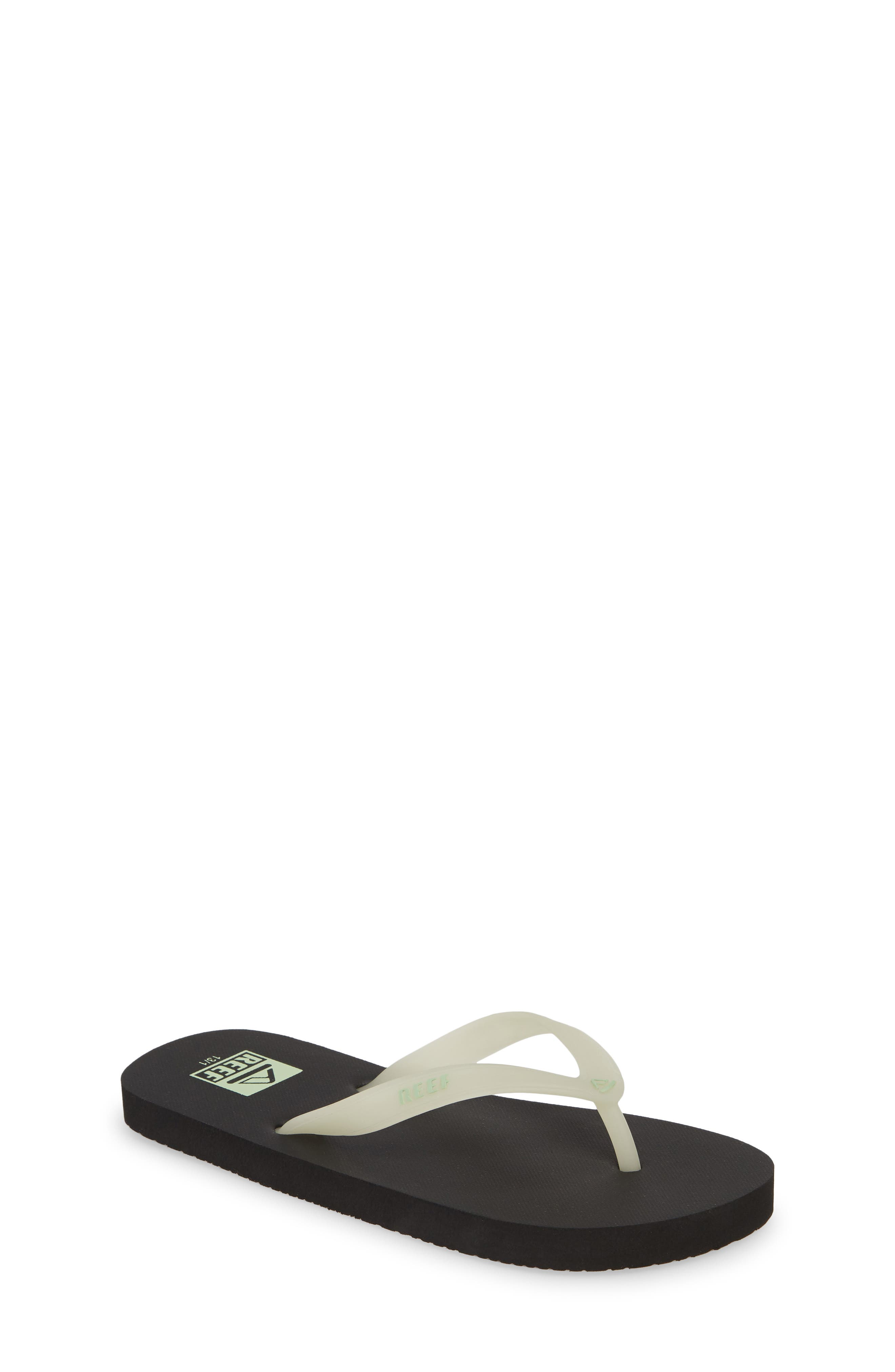REEF, Switchfoot Glow Flip Flop, Main thumbnail 1, color, BLACK GLOW