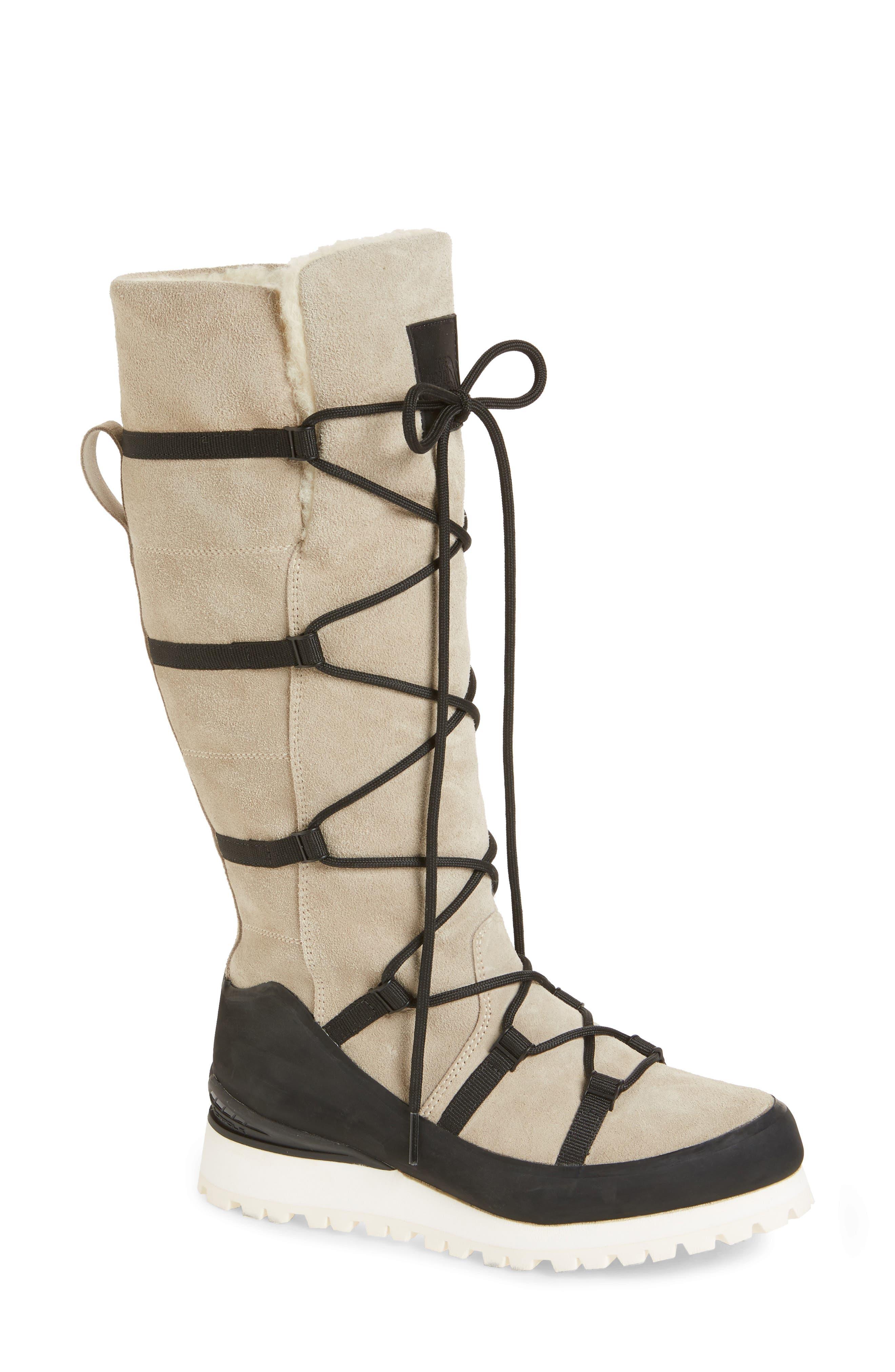 The North Face Cryos Knee High Waterproof Boot, Grey