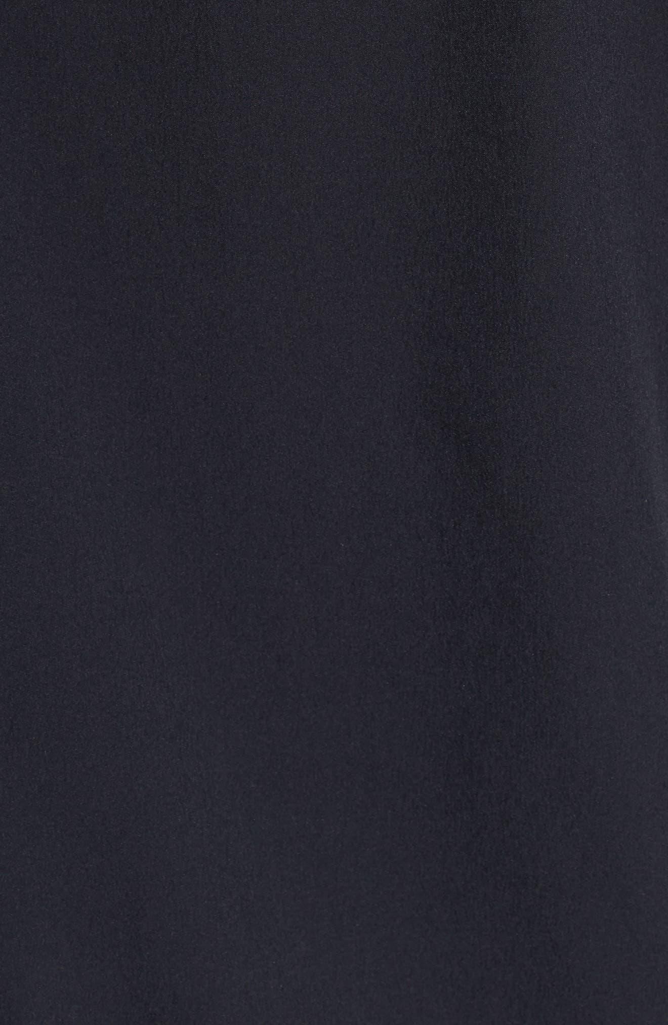 UNDER ARMOUR, Baseline Hooded Jacket, Alternate thumbnail 7, color, 001