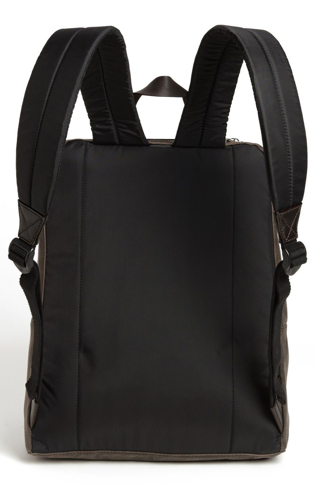 JACK SPADE, 'Waxwear' Backpack, Alternate thumbnail 2, color, 215