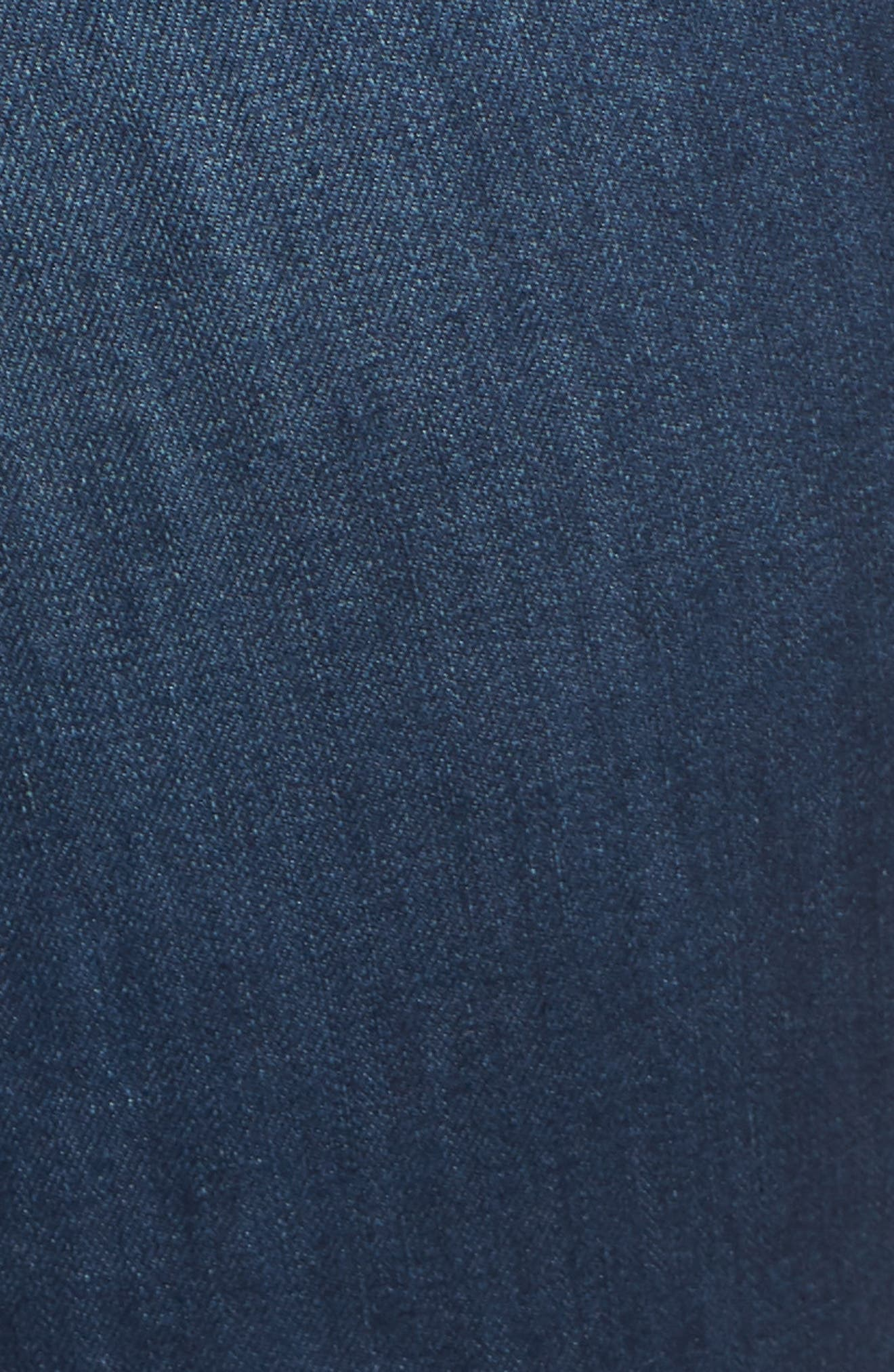 WIT & WISDOM, Ab-Solution Itty Bitty Bootcut Jeans, Alternate thumbnail 6, color, BLUE