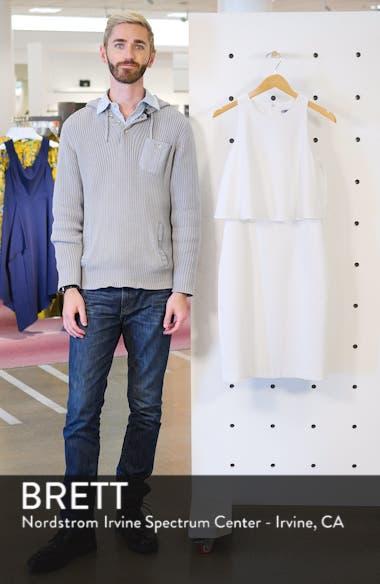 Popover Crop Sheath Dress, sales video thumbnail