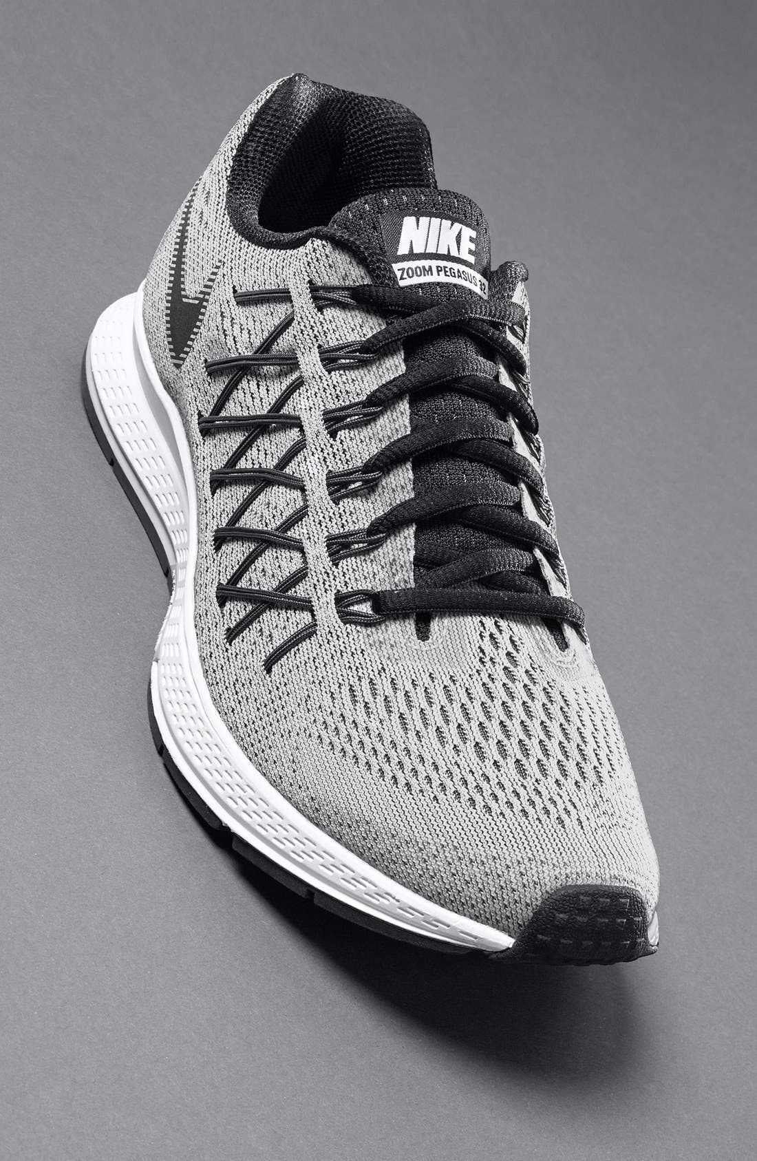 NIKE, 'Zoom Pegasus 32' Running Shoe, Alternate thumbnail 3, color, 004