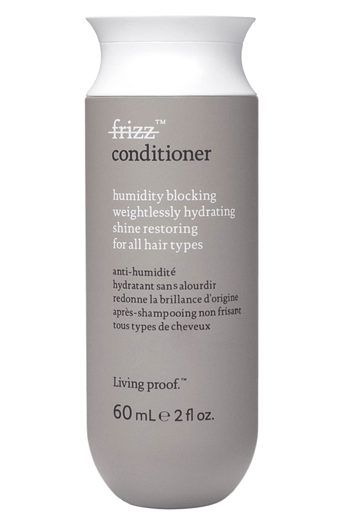 LIVING PROOF<SUP>®</SUP>, No Frizz Conditioner, Main thumbnail 1, color, NO COLOR