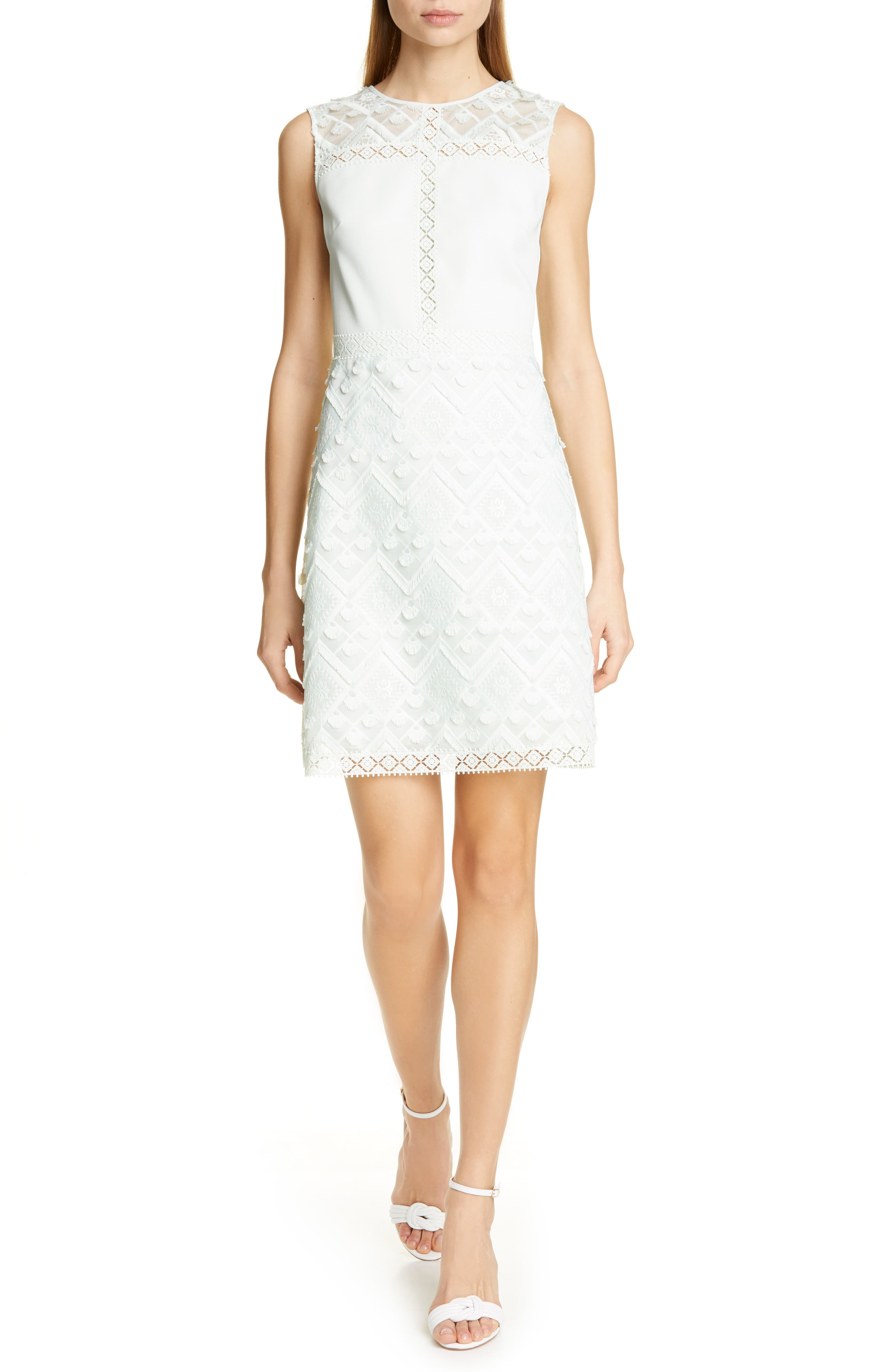 Ted Baker London Geo Lace Dess, Green