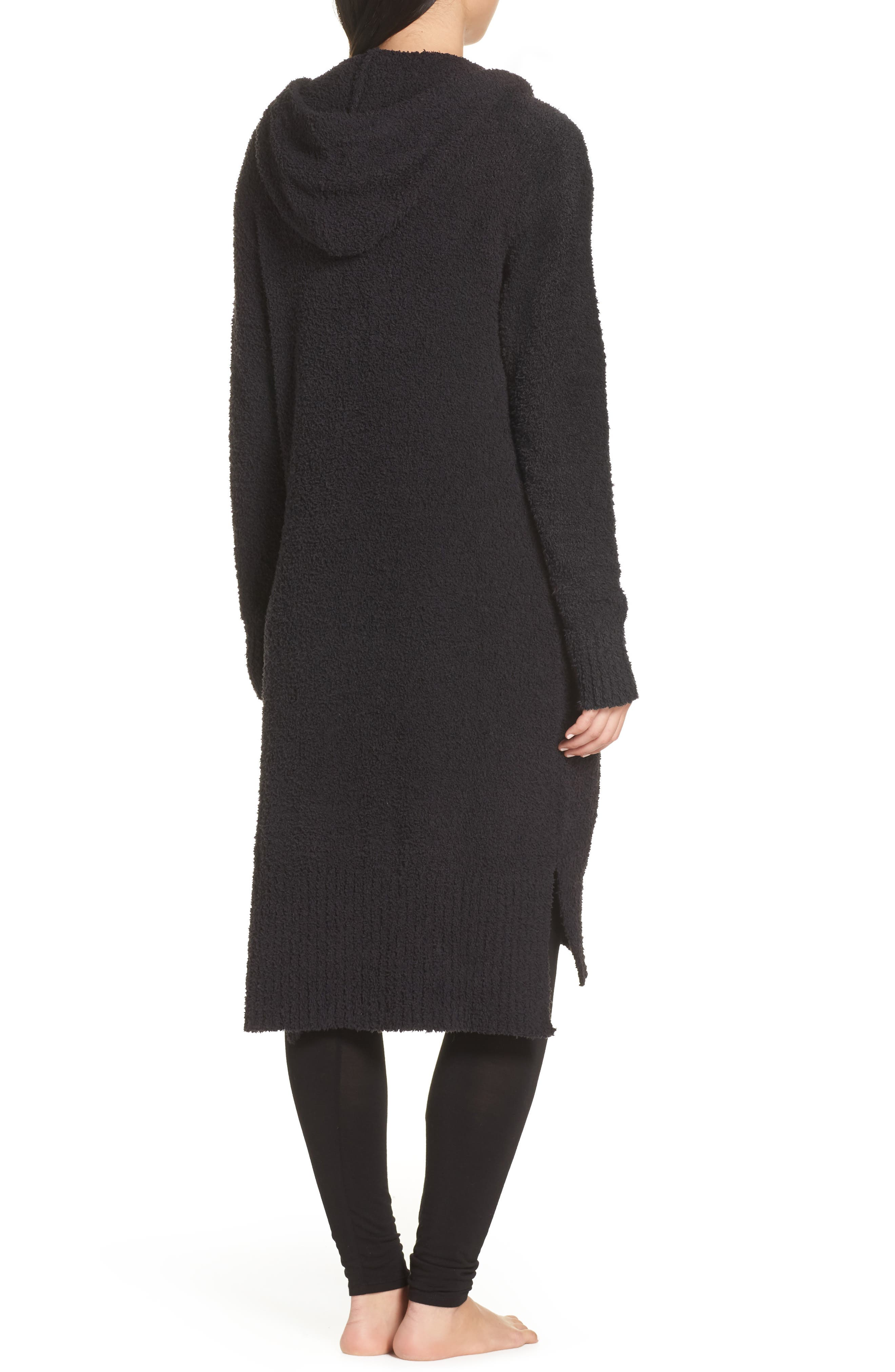 UGG<SUP>®</SUP>, Judith Long Cardigan, Alternate thumbnail 2, color, BLACK