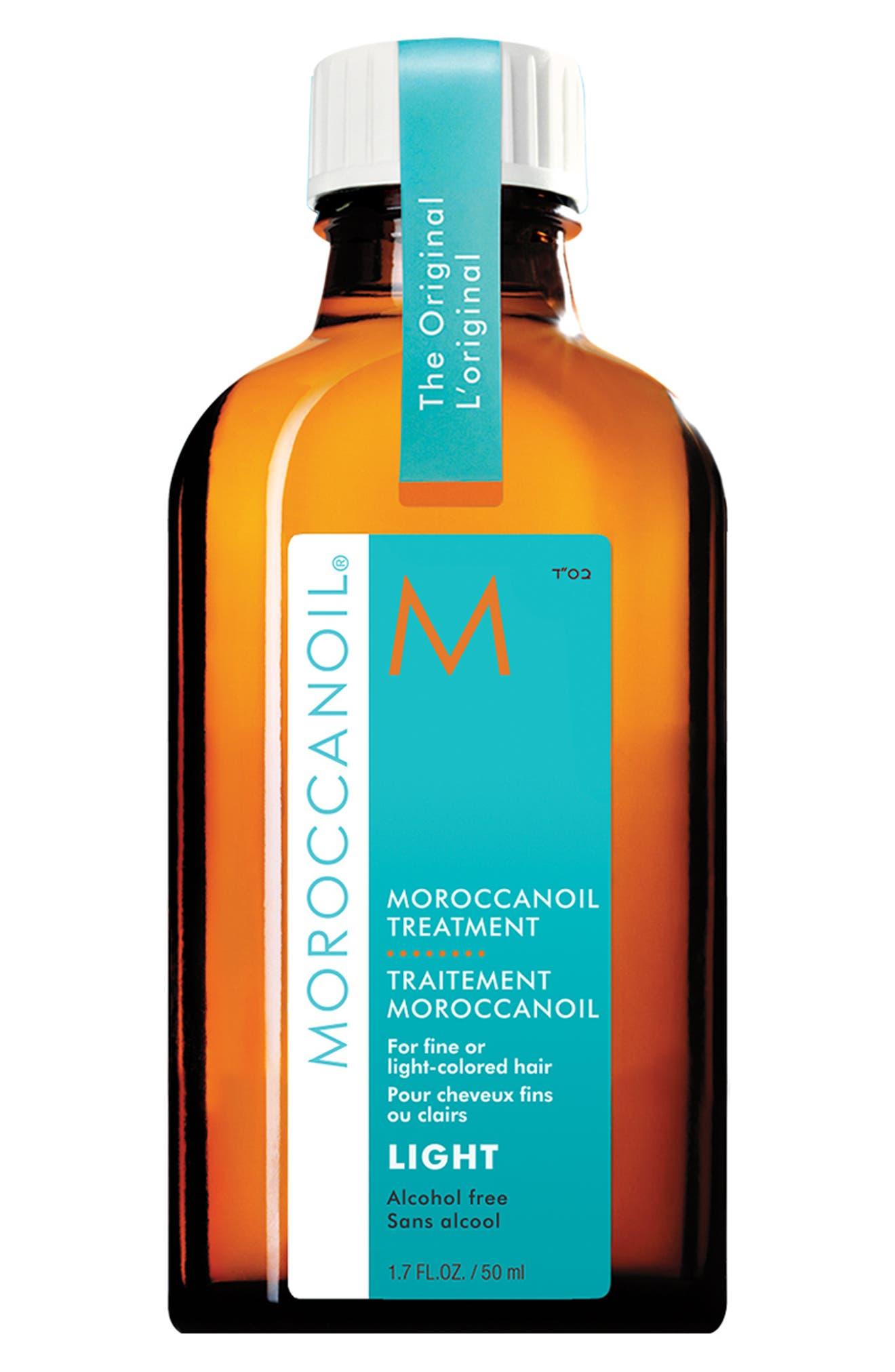MOROCCANOIL<SUP>®</SUP>, Treatment Light, Main thumbnail 1, color, NO COLOR