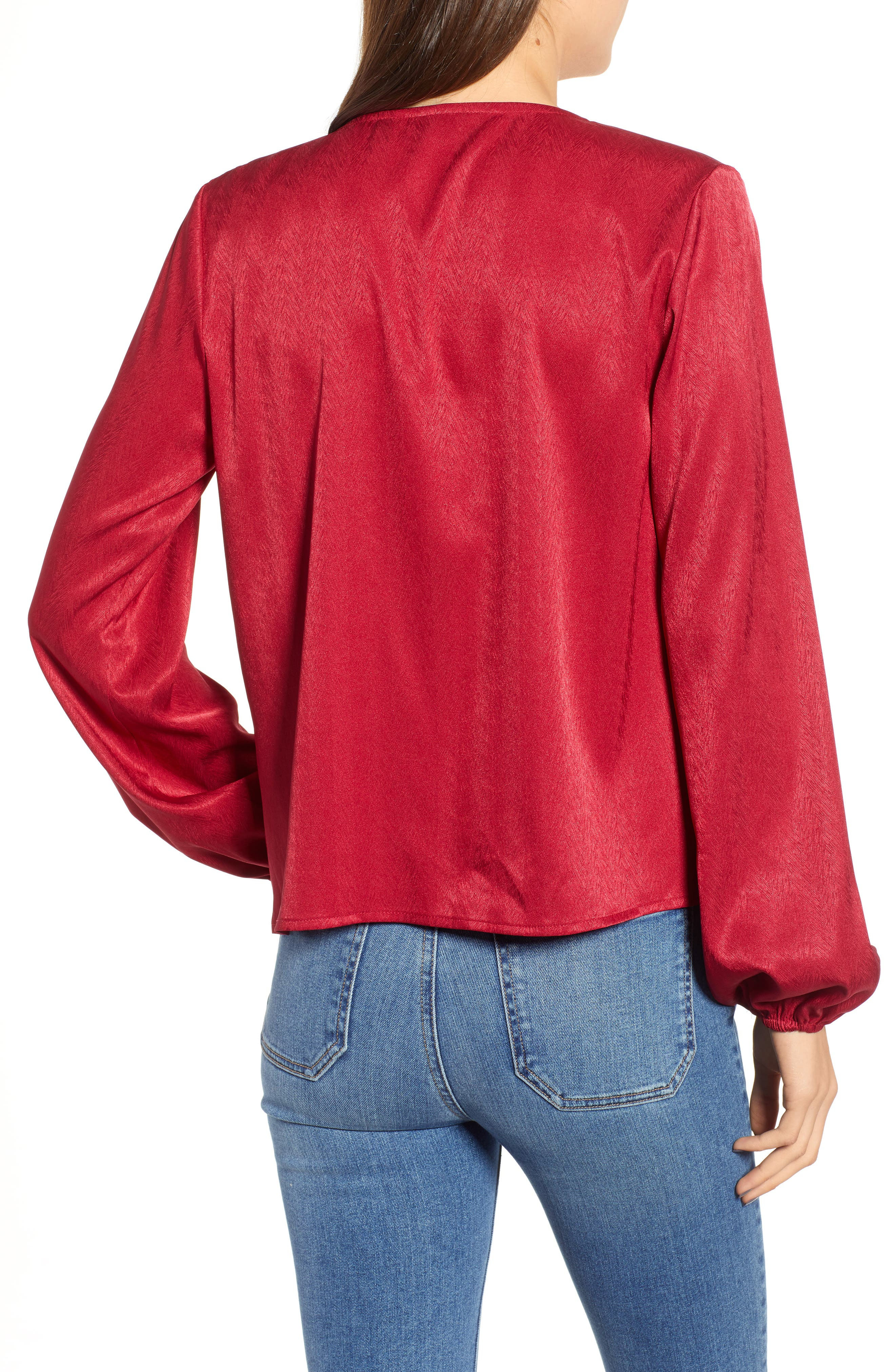 THE FIFTH LABEL, Lotti Cowl Neck Top, Alternate thumbnail 2, color, 600