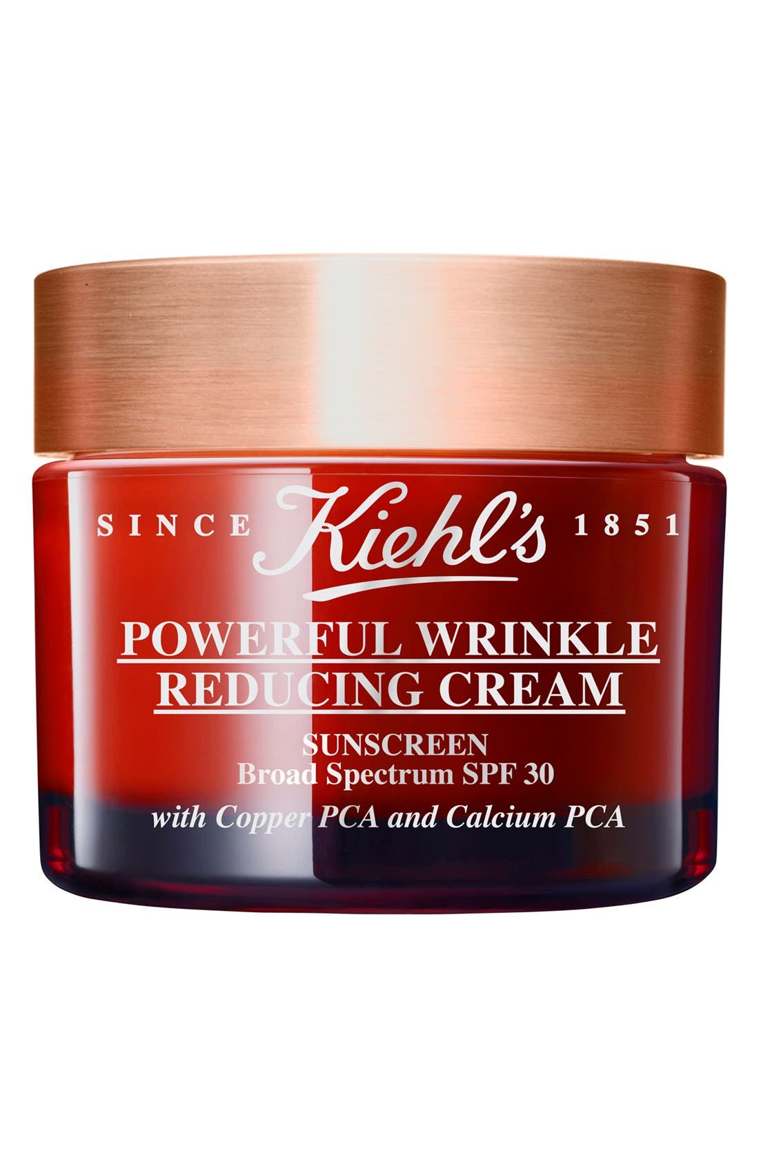 KIEHL'S SINCE 1851, Powerful Wrinkle Reducing Cream Broad Spectrum SPF 30, Alternate thumbnail 4, color, NO COLOR