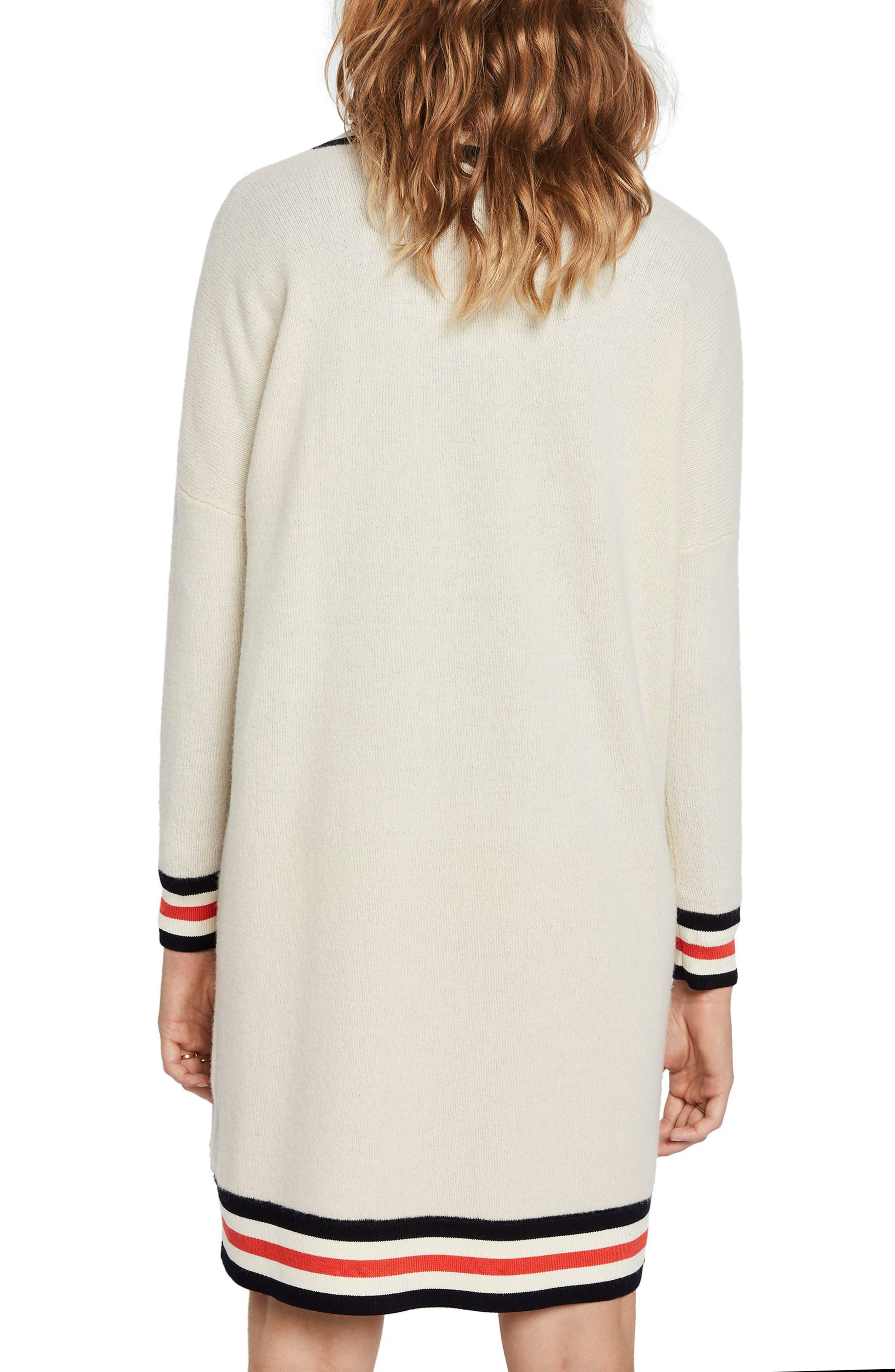 SCOTCH & SODA, Luxury Lambswool Longline Sweater, Alternate thumbnail 2, color, 250