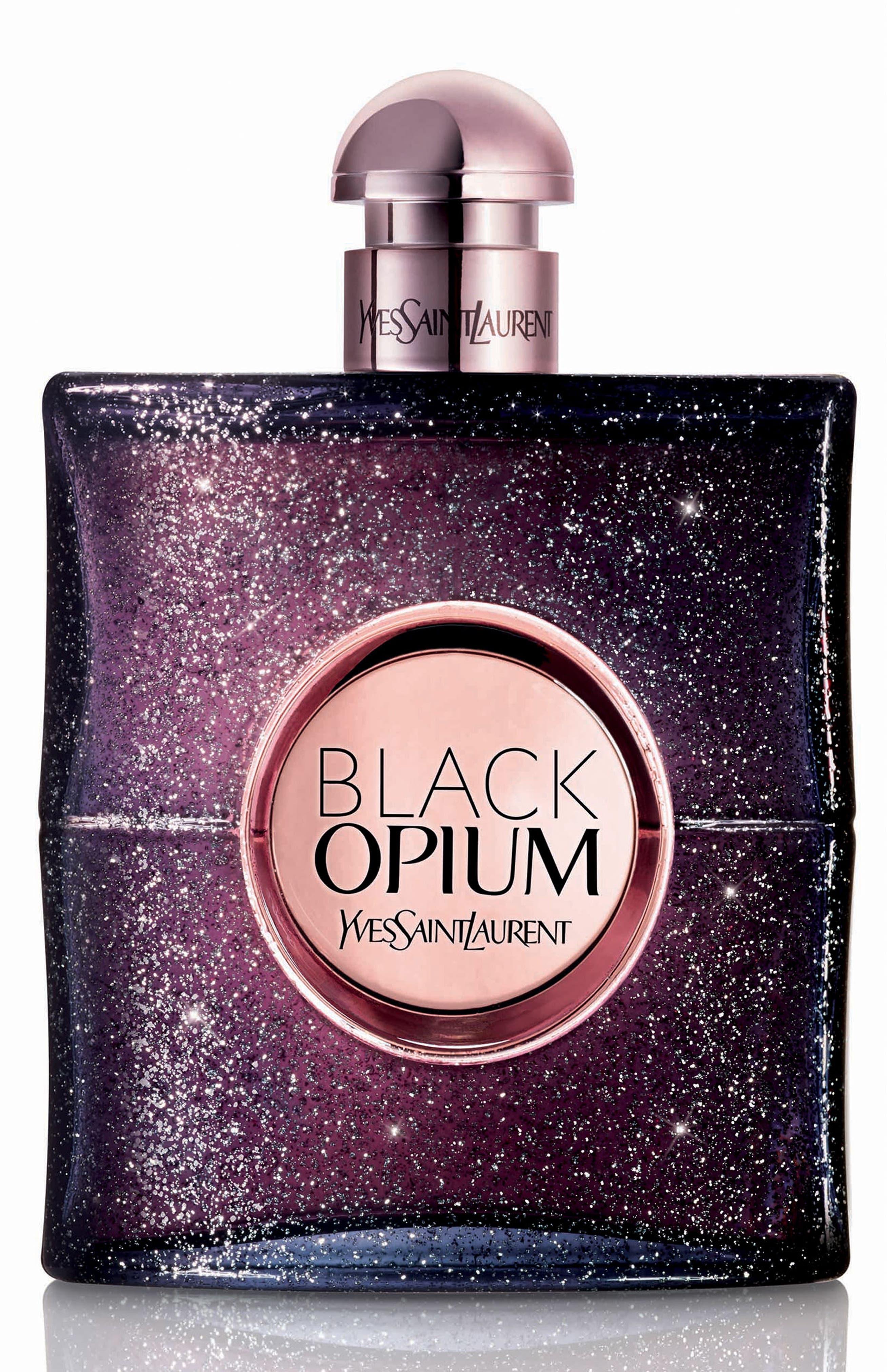 YVES SAINT LAURENT, Black Opium Nuit Blanche Eau de Parfum, Main thumbnail 1, color, NO COLOR