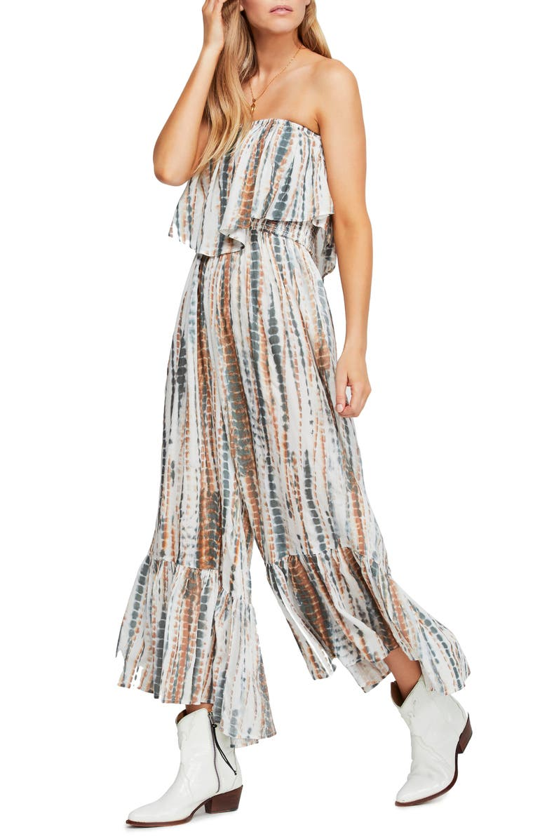 Free People Suits SUMMER VIBES STRAPLESS JUMPSUIT