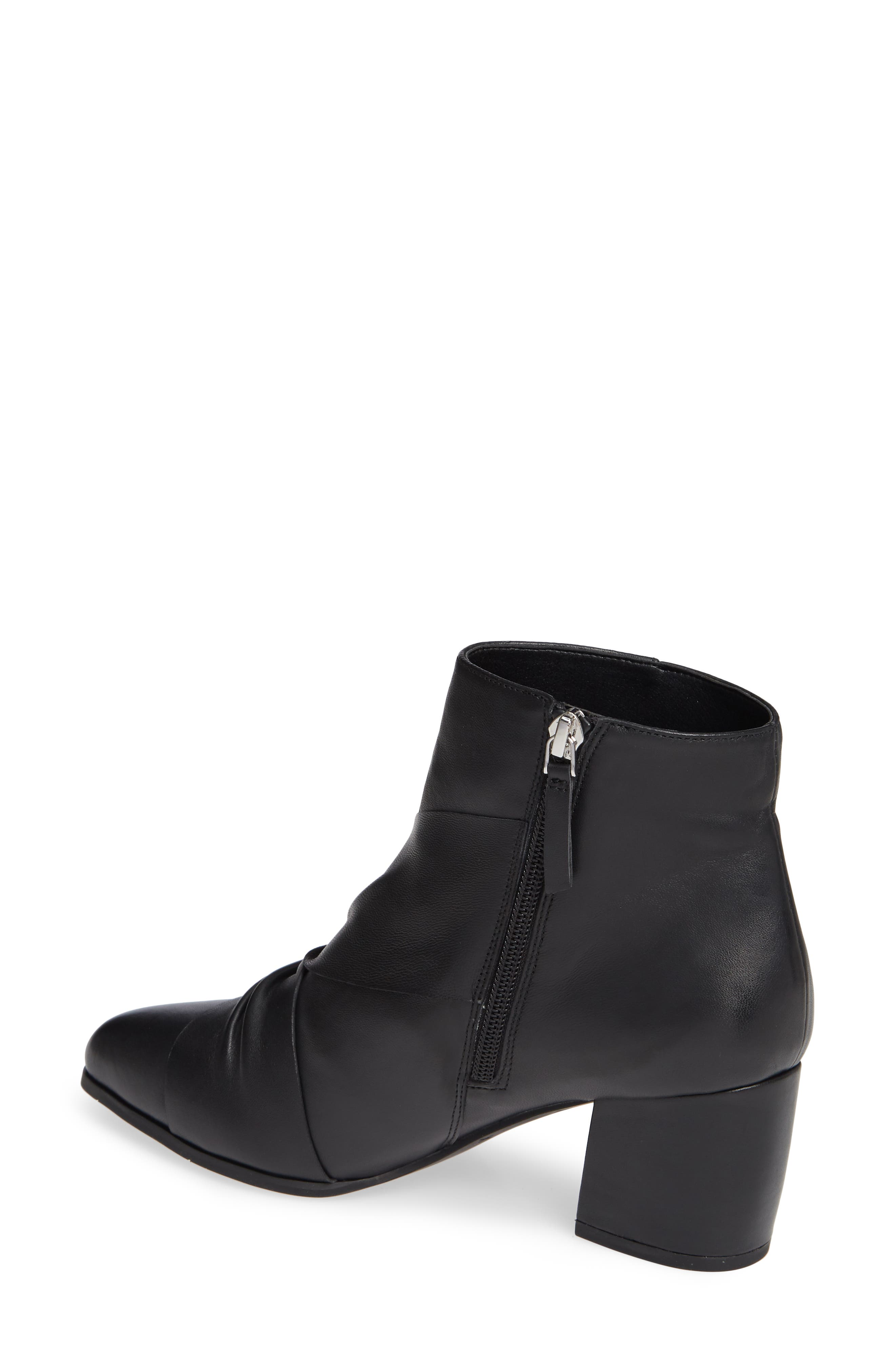 NIC+ZOE, Amorie II Bootie, Alternate thumbnail 2, color, BLACK LEATHER