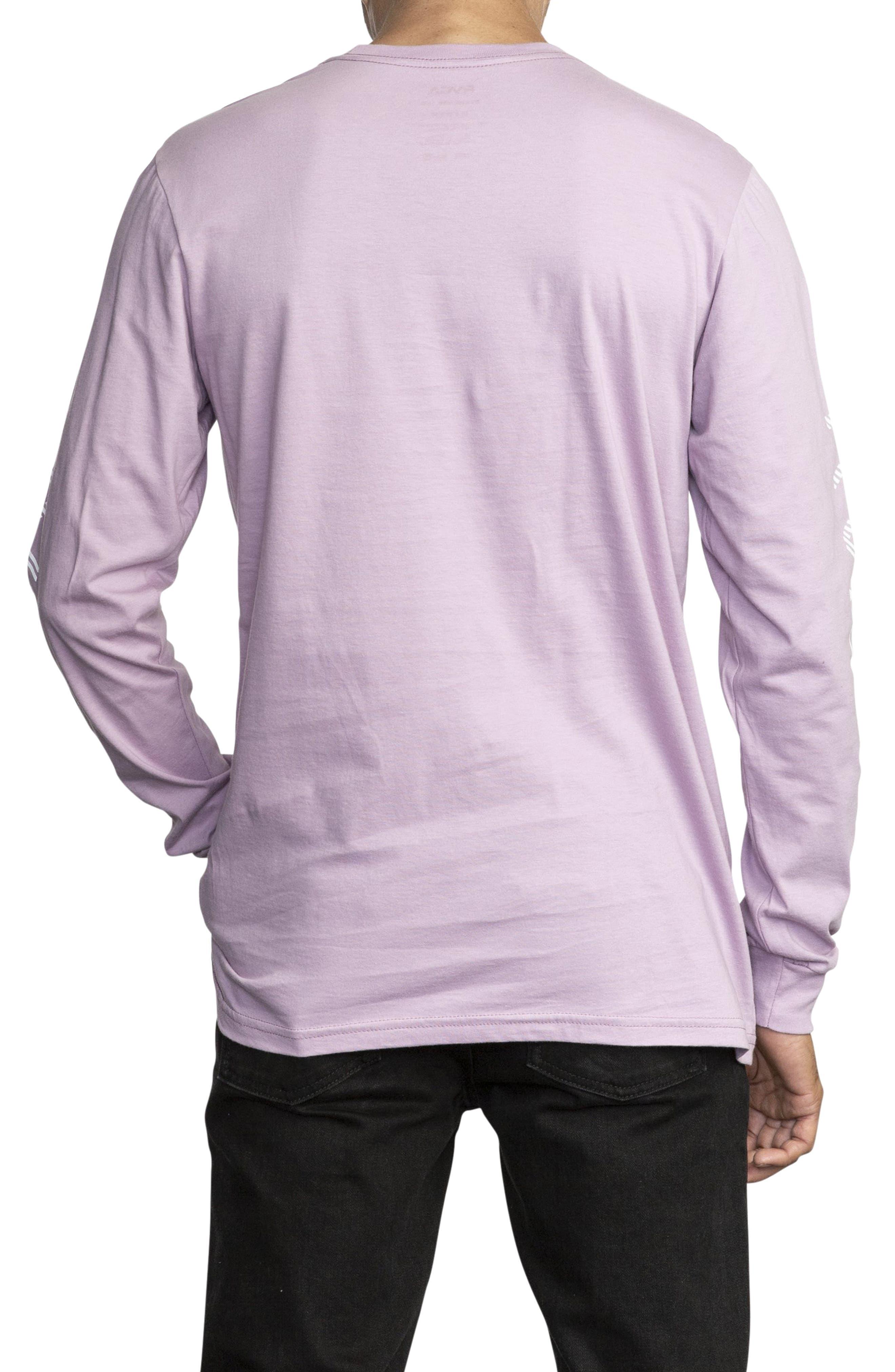 RVCA, Segment Long Sleeve T-Shirt, Alternate thumbnail 2, color, 531