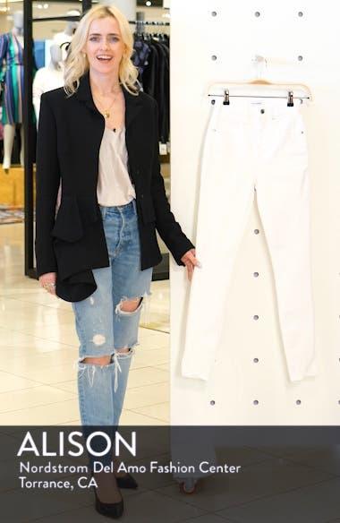 Good Legs Cascade Hem Skinny Jeans, sales video thumbnail