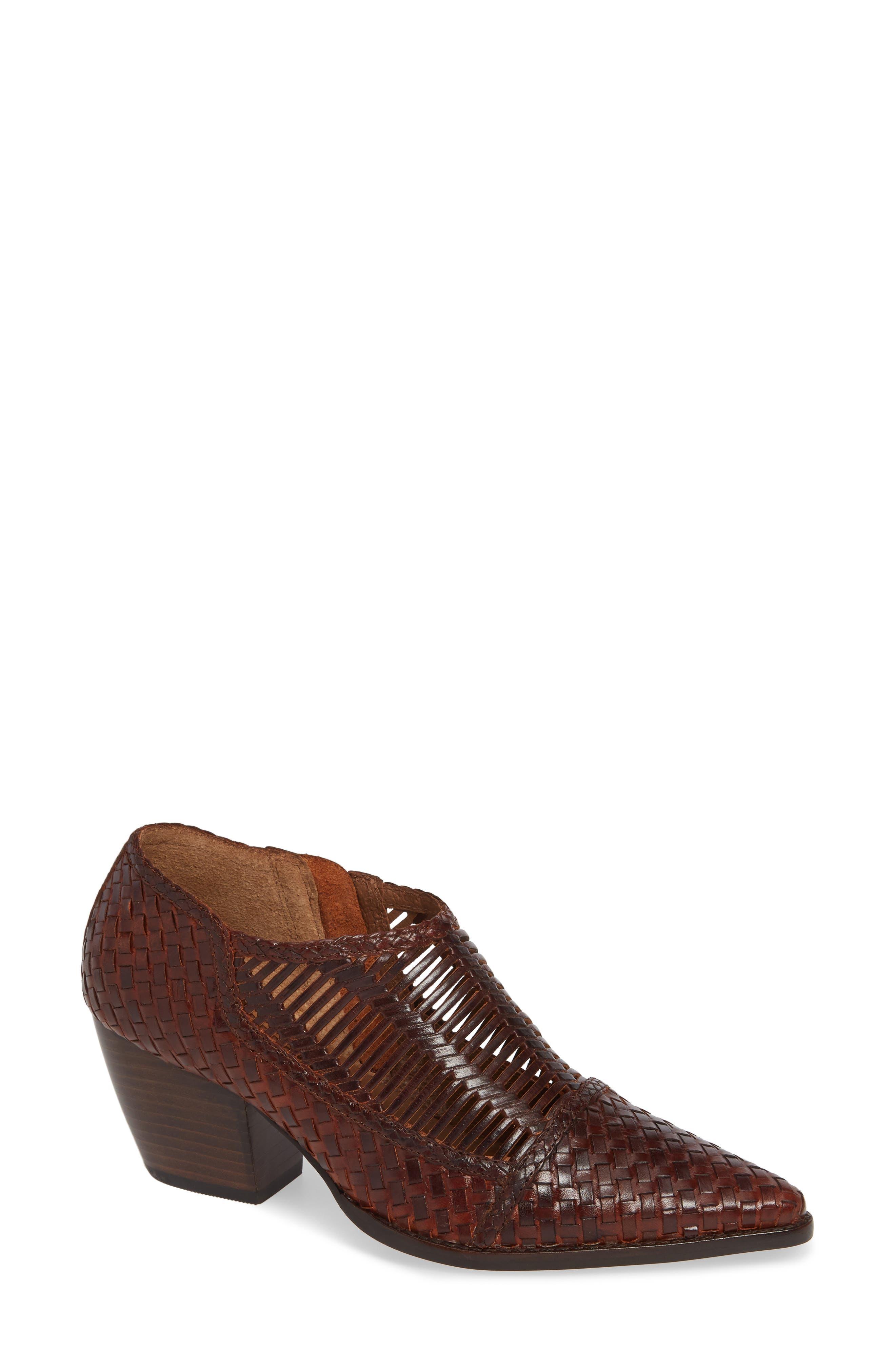 Matisse Vigo Woven Bootie- Brown