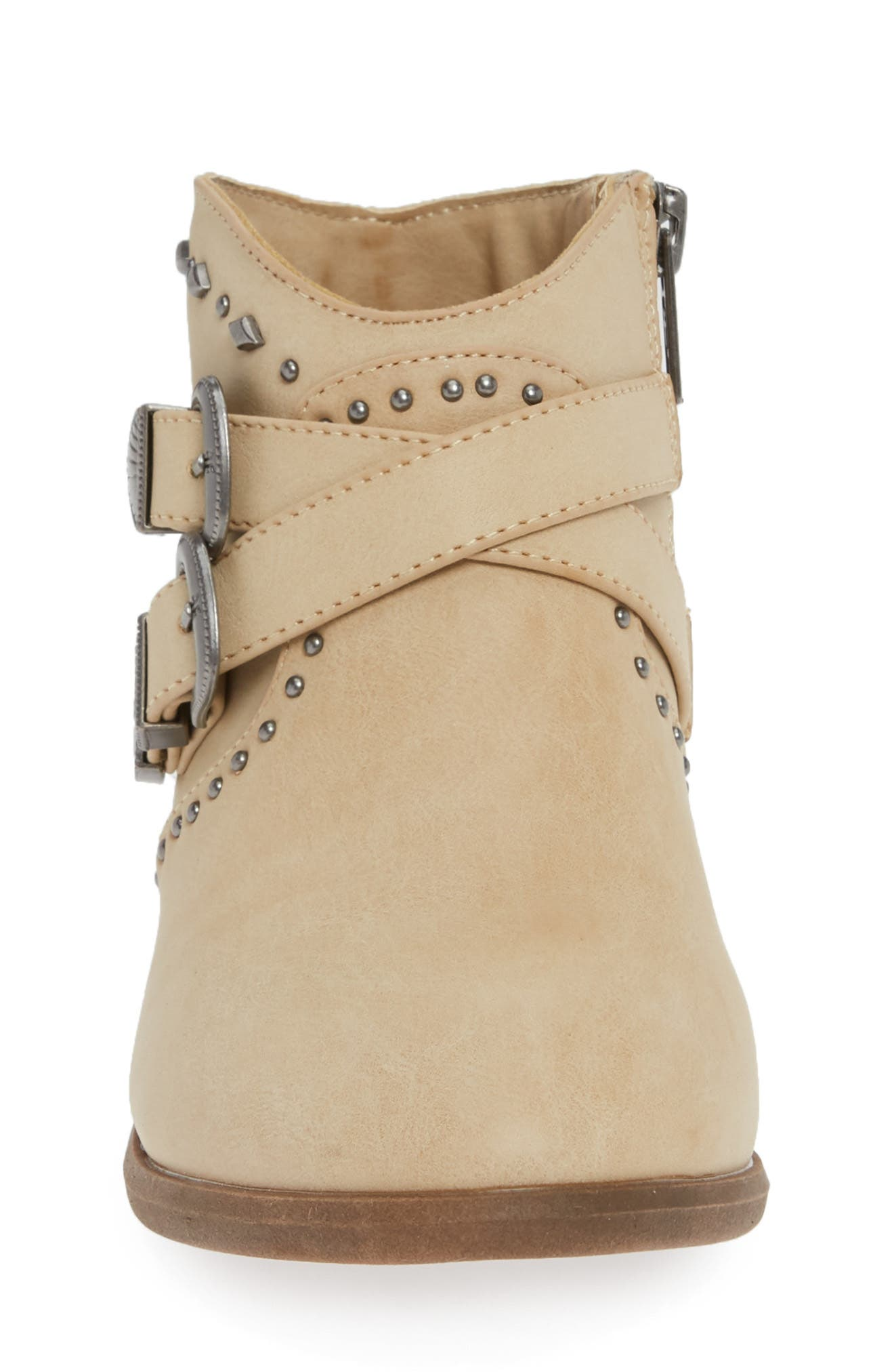 FRYE, Ellen Stud Boots, Alternate thumbnail 4, color, 281