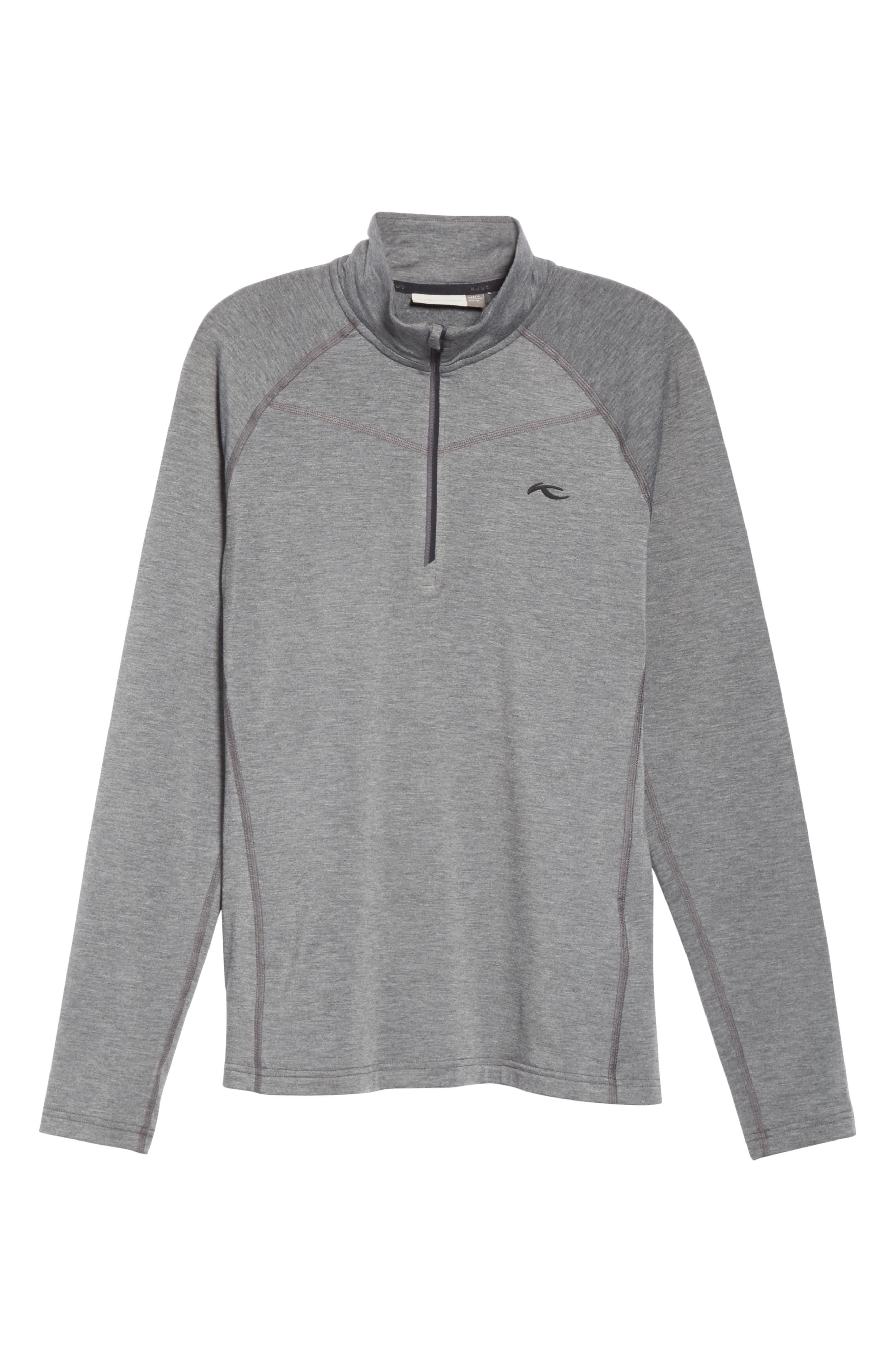 KJUS Trace Half Zip Pullover, Main, color, 020