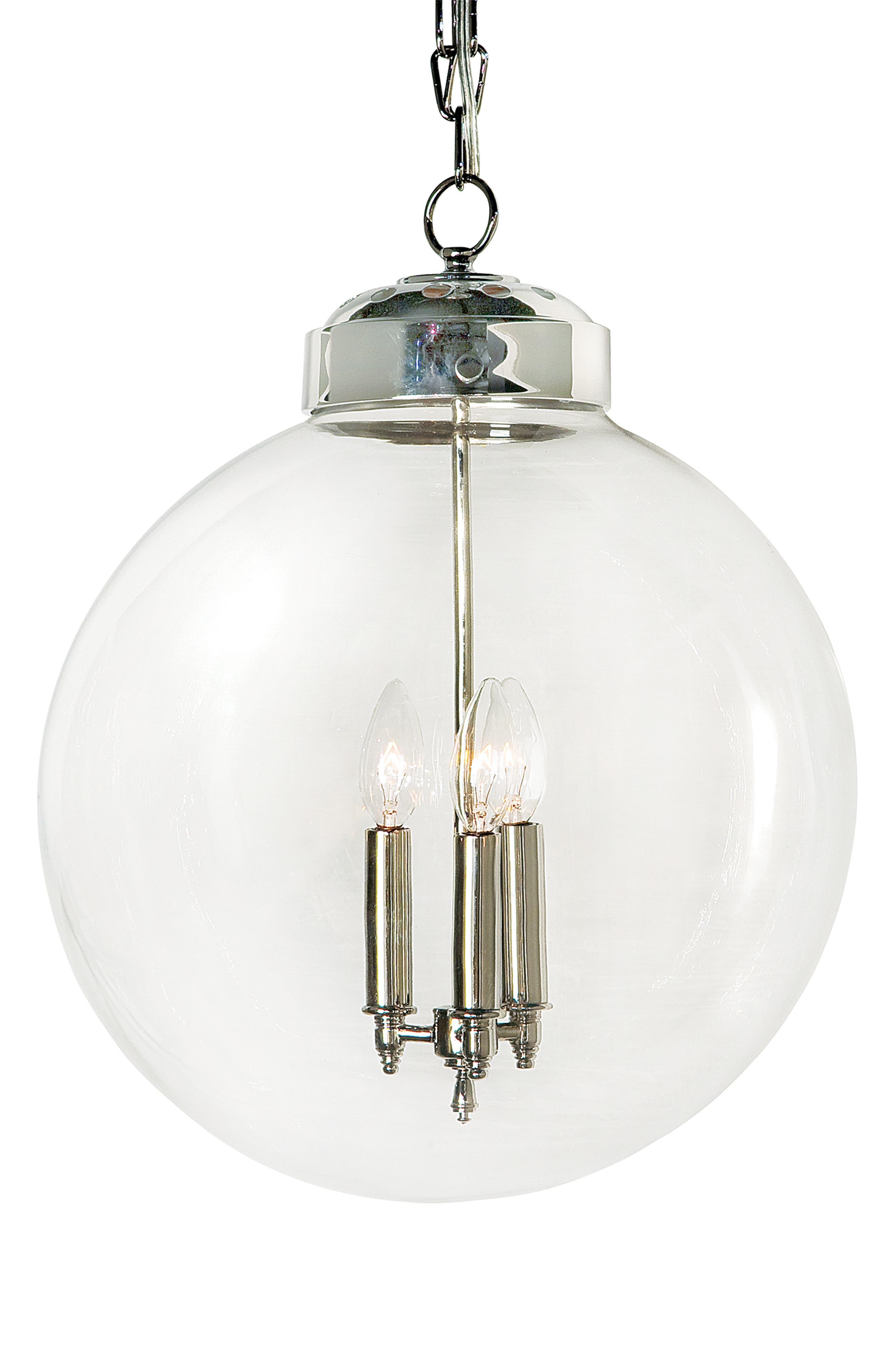 Regina Andrew Design Globe Pendant Lamp Size One Size  Metallic