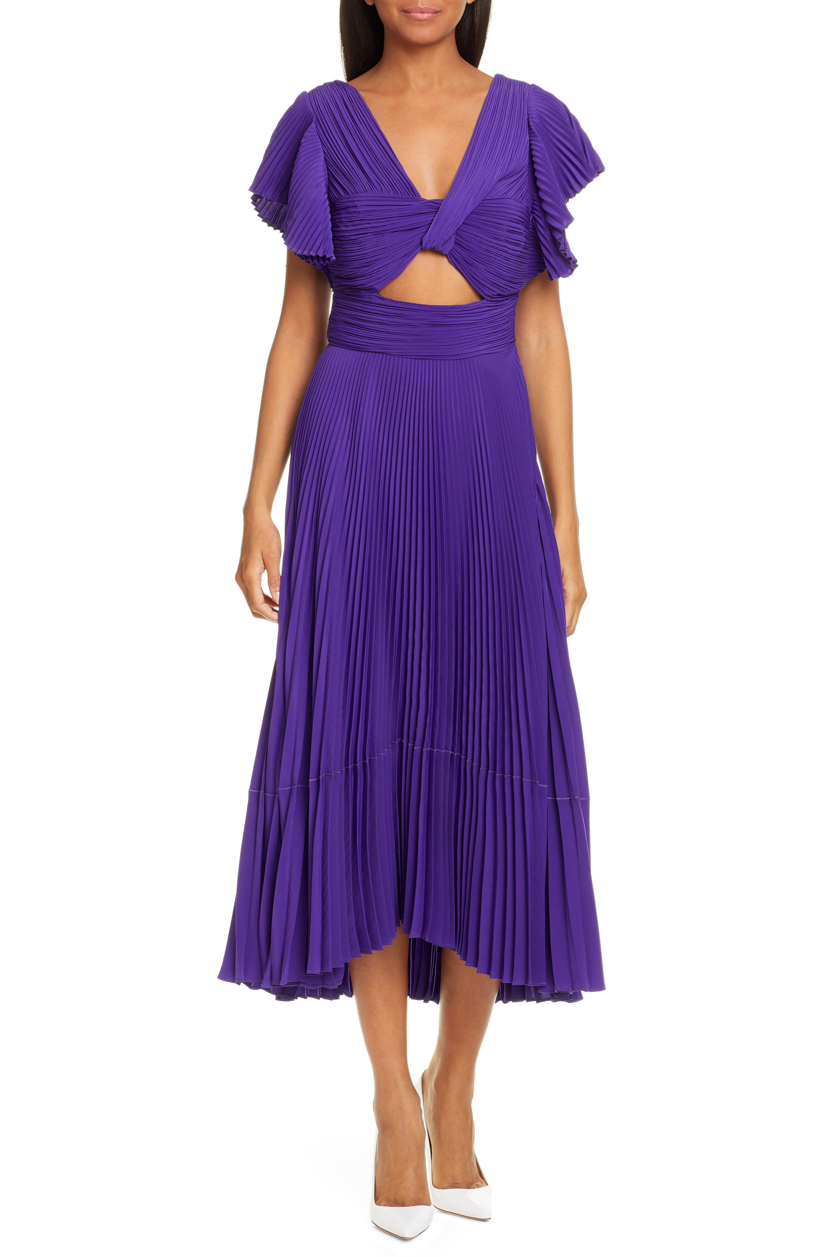 A.l.c. Sorrento Midi Dress, Purple