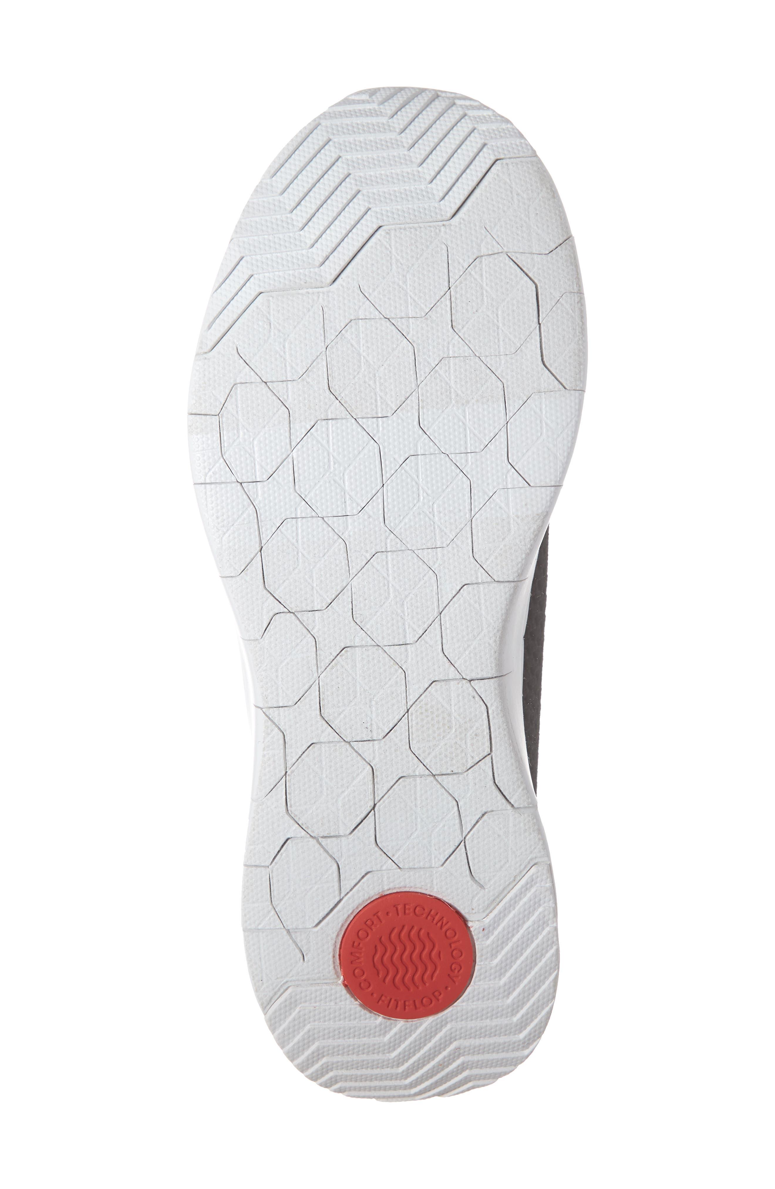 FITFLOP, Airmesh Slip-On Sneaker, Alternate thumbnail 6, color, BLACK