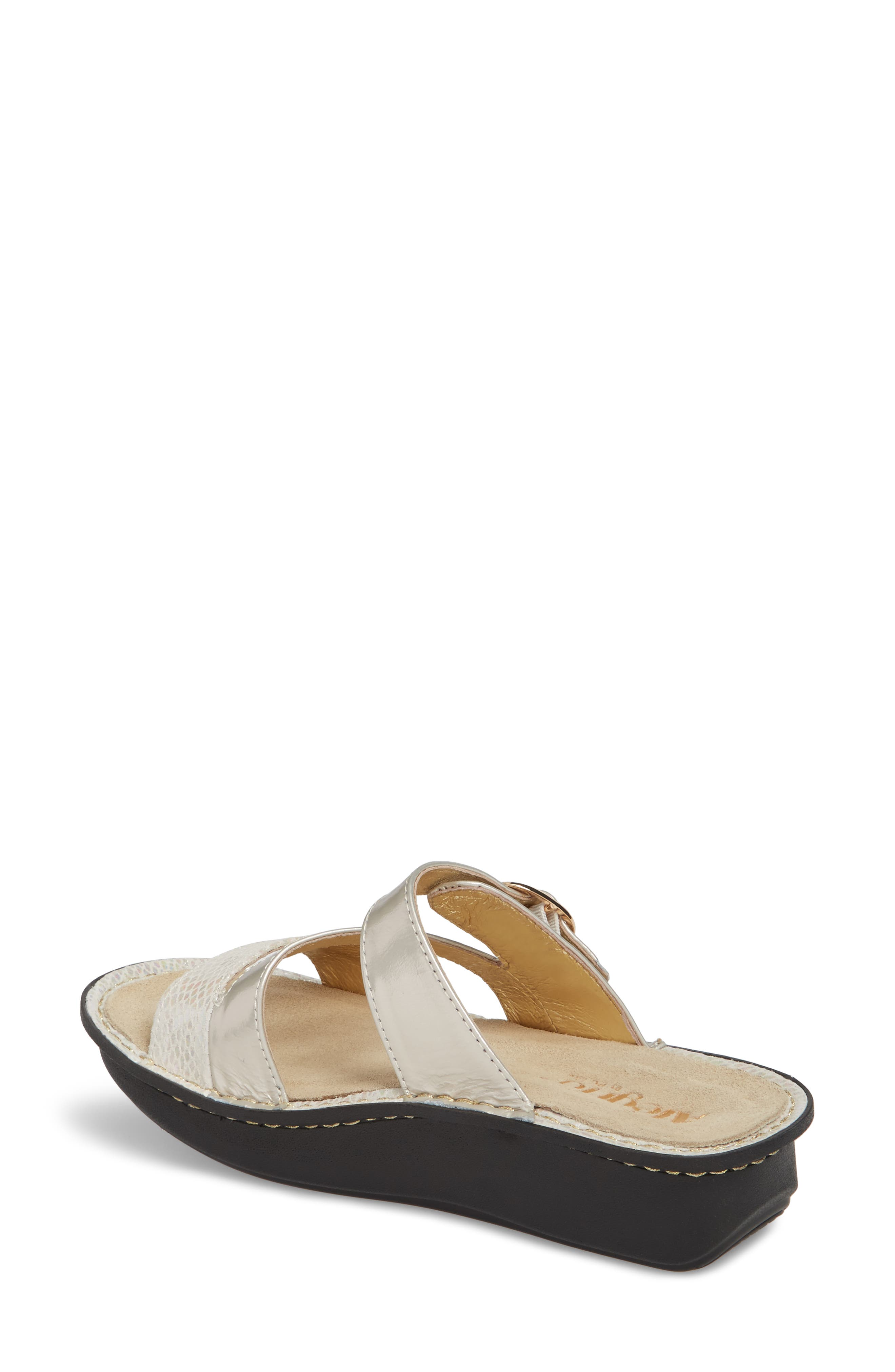 ALEGRIA, 'Colette' Platform Sandal, Alternate thumbnail 2, color, OPFULLY LEATHER